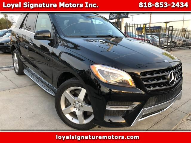 Used 2013 mercedes benz m class ml550 for sale 21 995 for Mercedes benz van nuys inventory