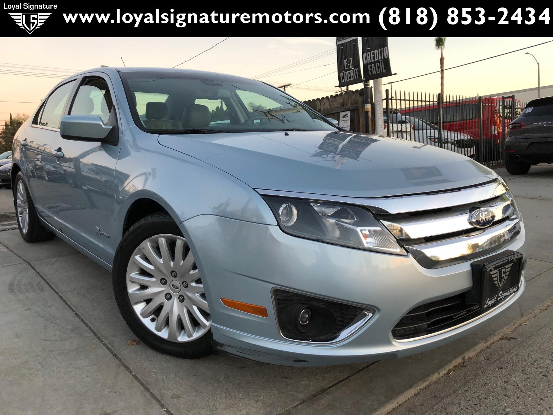 Used 2011 ford fusion hybrid