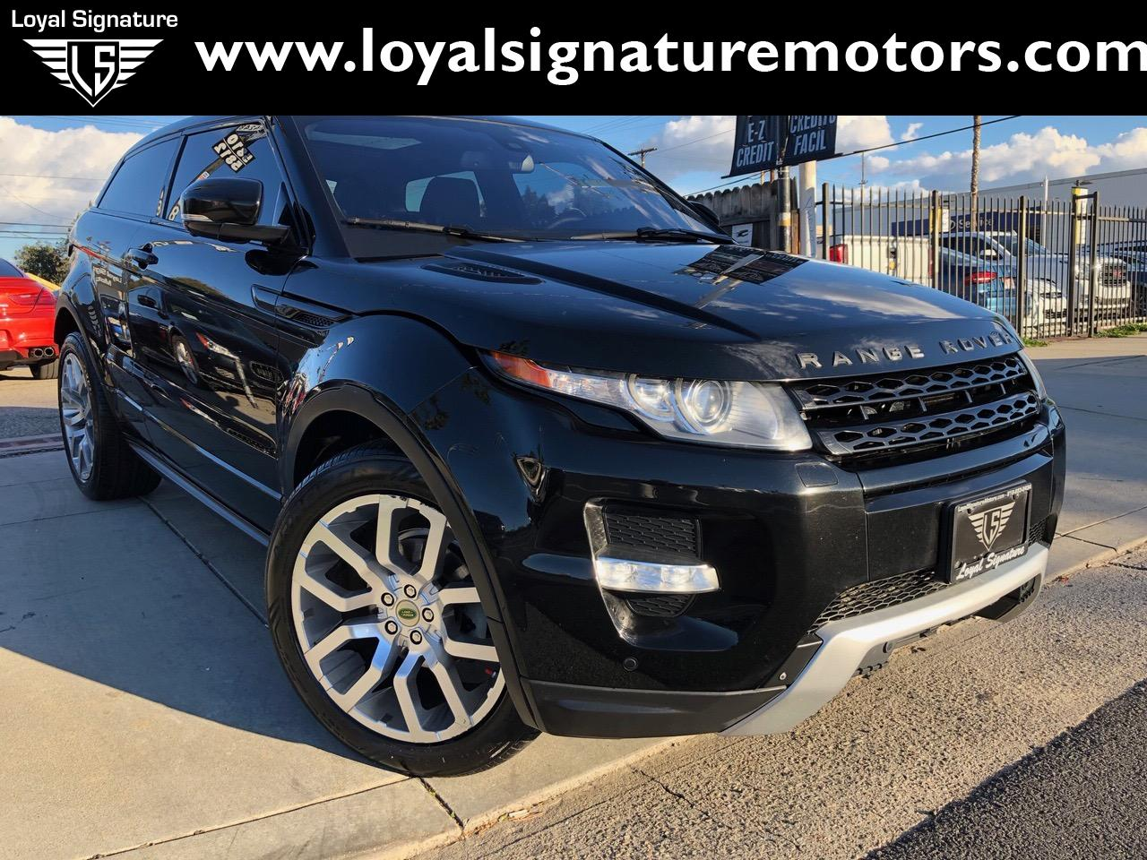 Used 2012 Land Rover Range Rover Evoque Coupe Dynamic | Van Nuys, CA