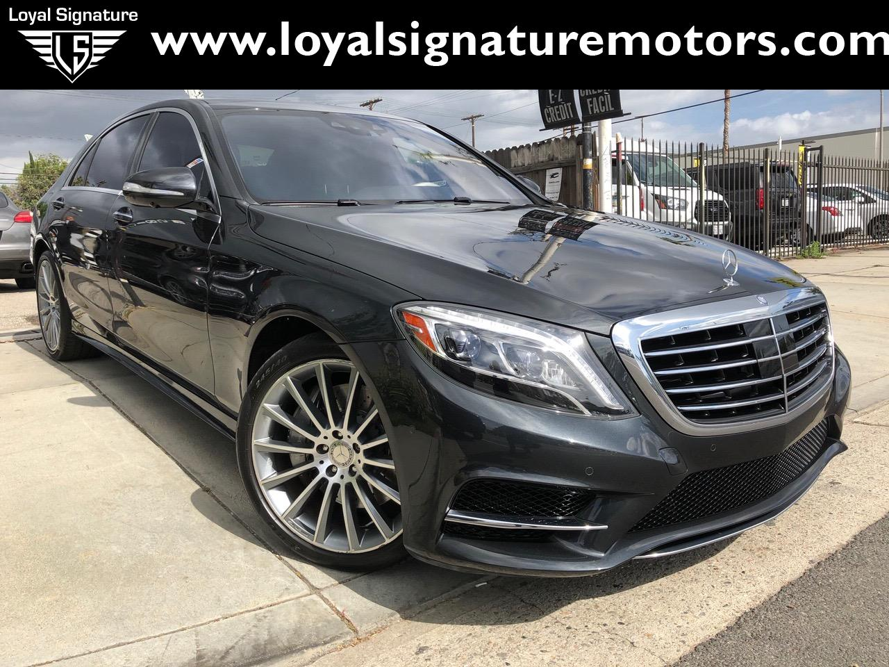 Used 2015 Mercedes-Benz S-Class S 550 4MATIC | Van Nuys, CA