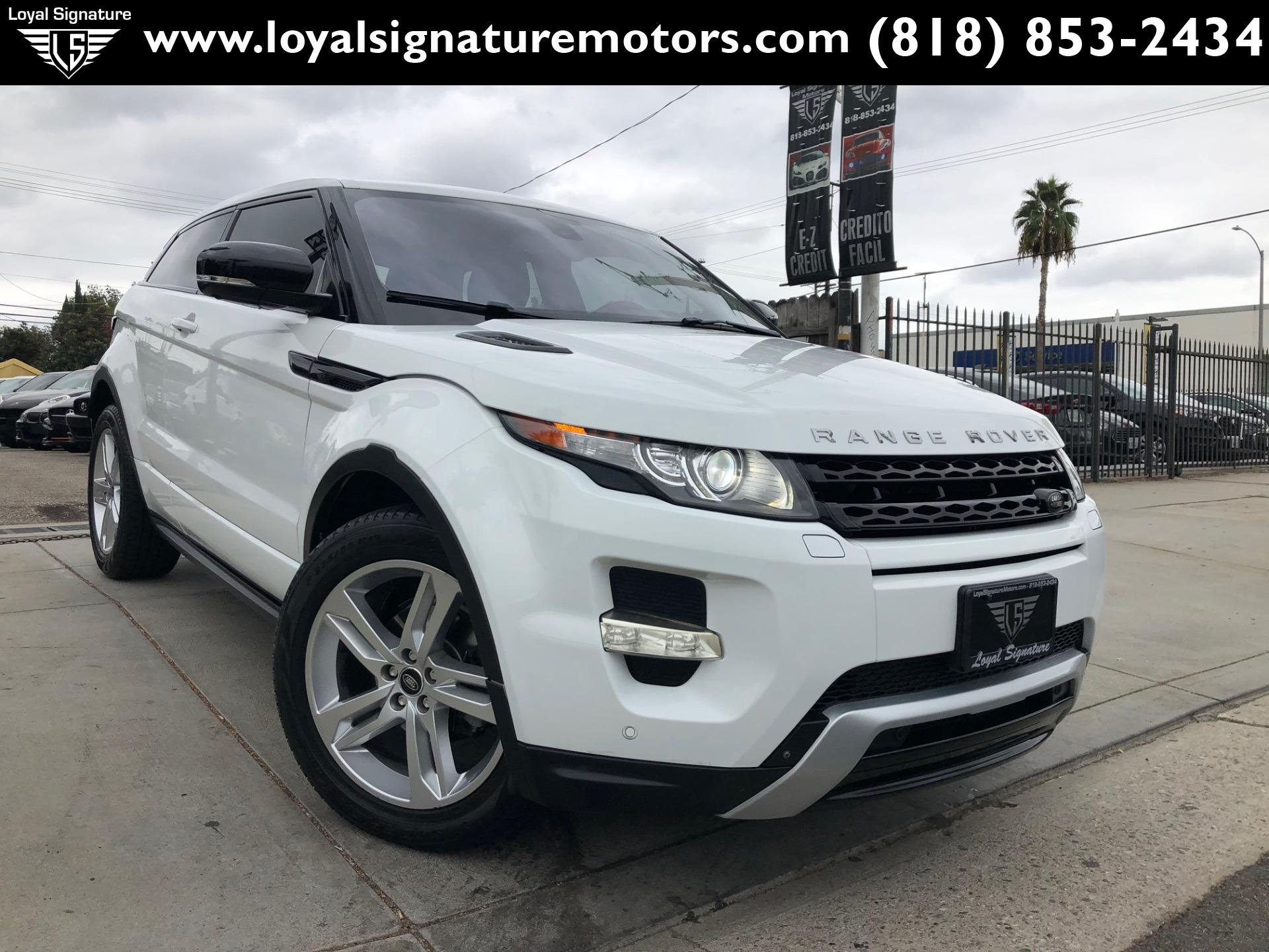 Used 2013 Land Rover Range Rover Evoque Coupe Dynamic | Van Nuys, CA