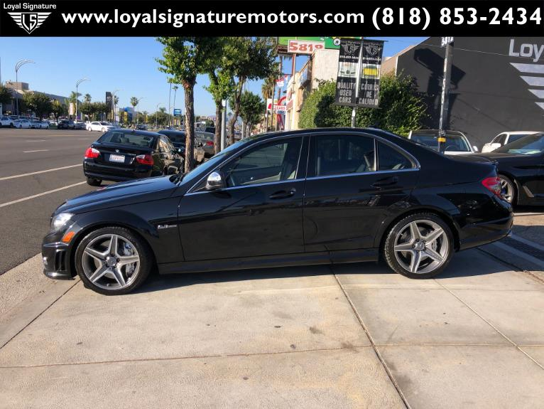 Used-2009-Mercedes-Benz-C-Class-C-63-AMG