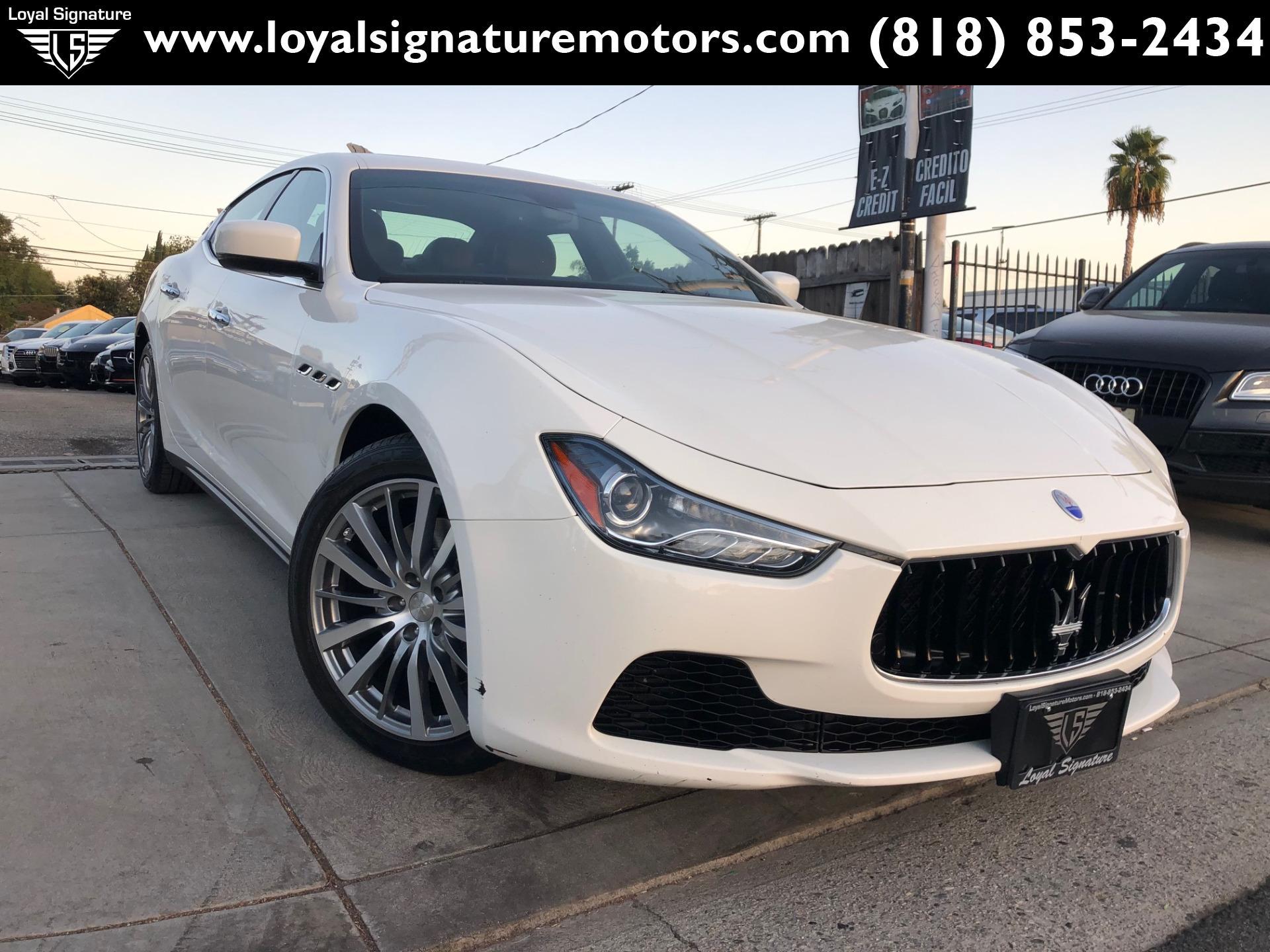 Used 2016 Maserati Ghibli  | Van Nuys, CA