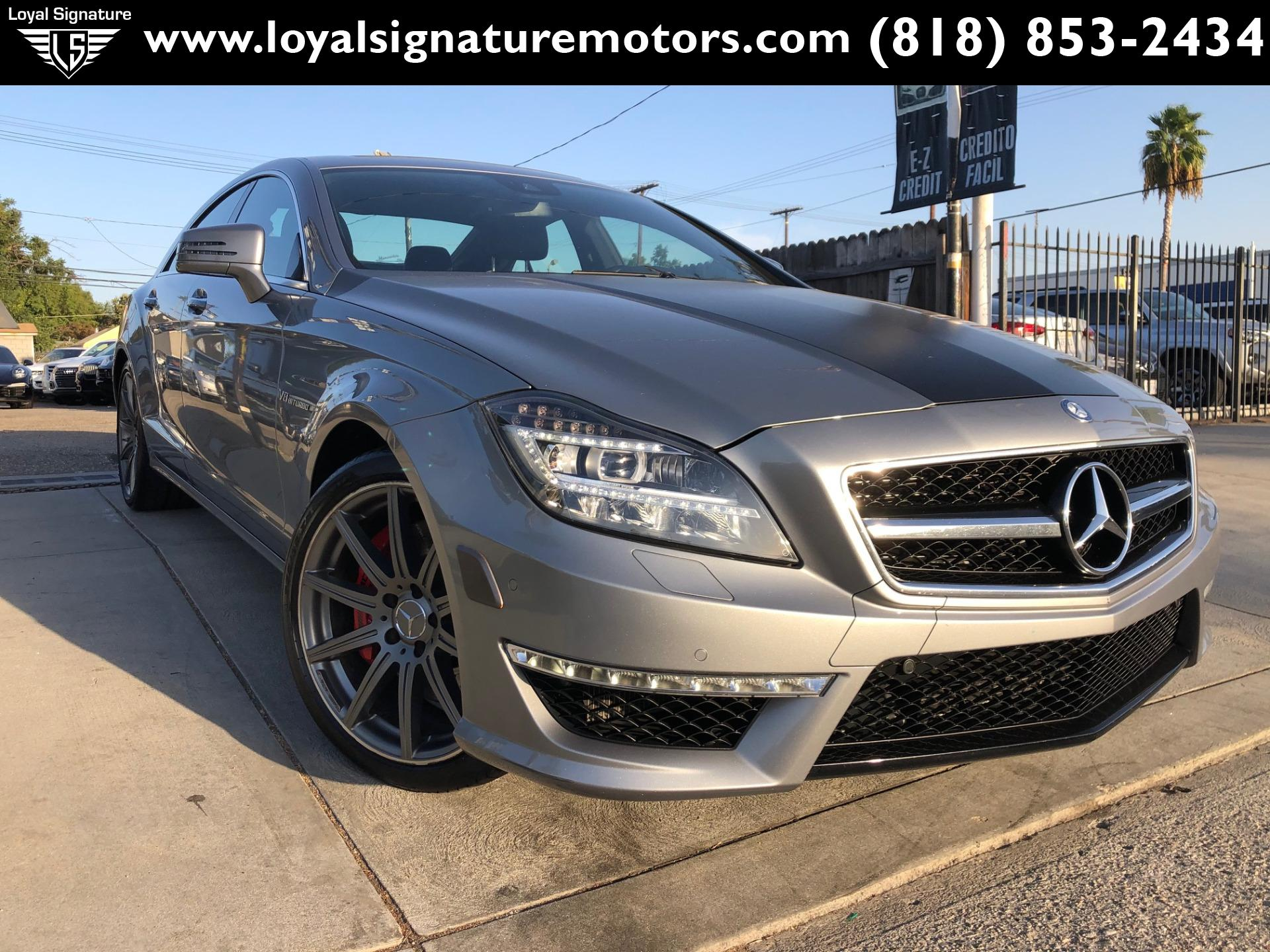Used 2014 Mercedes-Benz CLS CLS 63 AMG S-Model | Van Nuys, CA