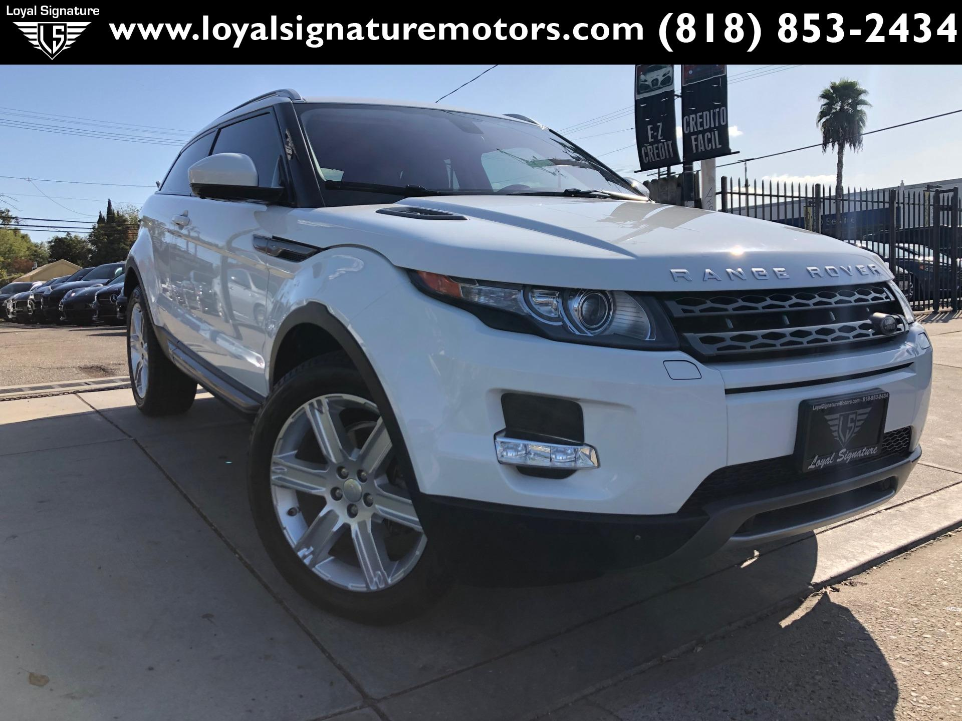 Used 2015 Land Rover Range Rover Evoque Coupe Pure Premium | Van Nuys, CA