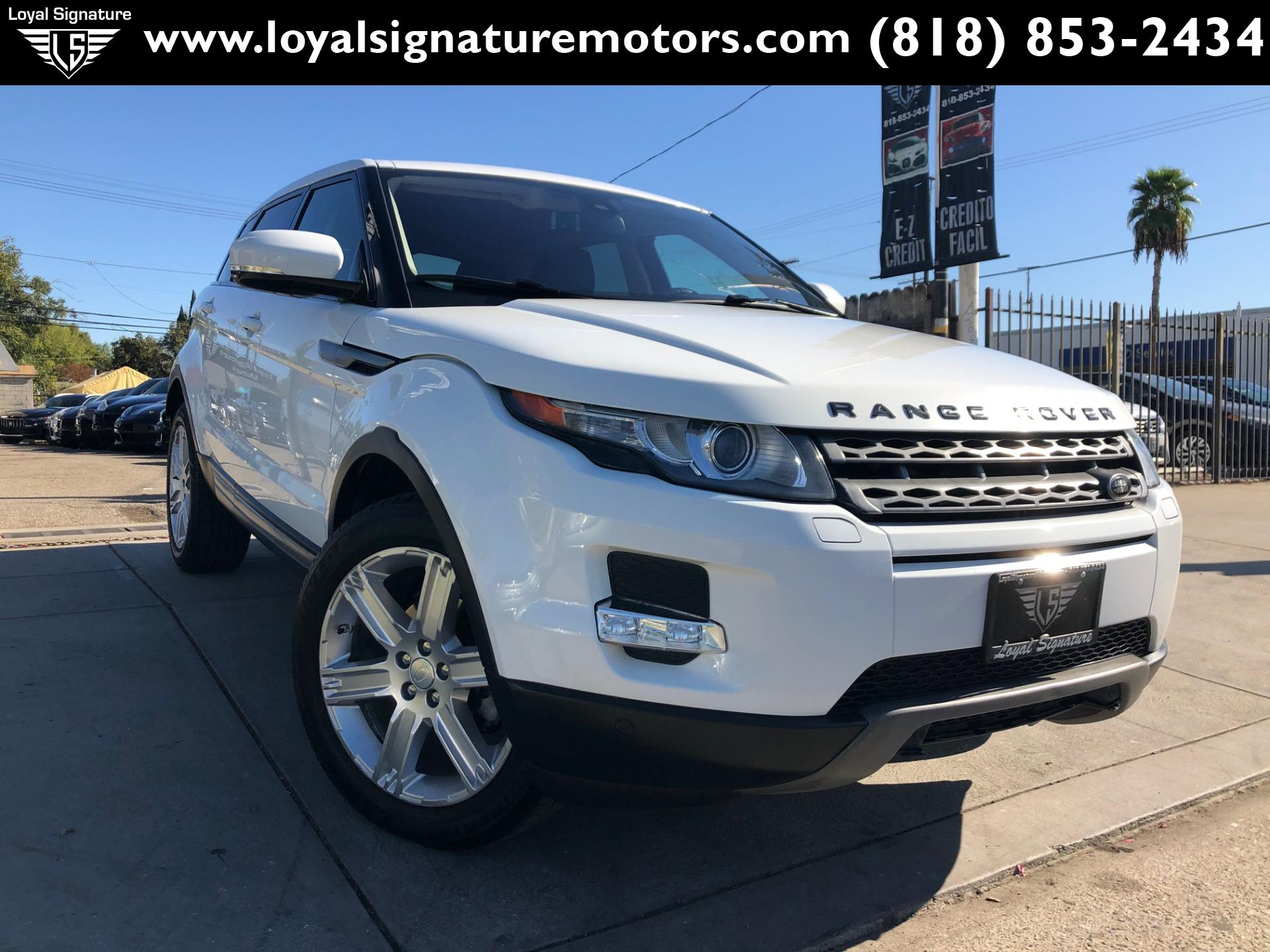 Used 2013 Land Rover Range Rover Evoque Pure Plus | Van Nuys, CA