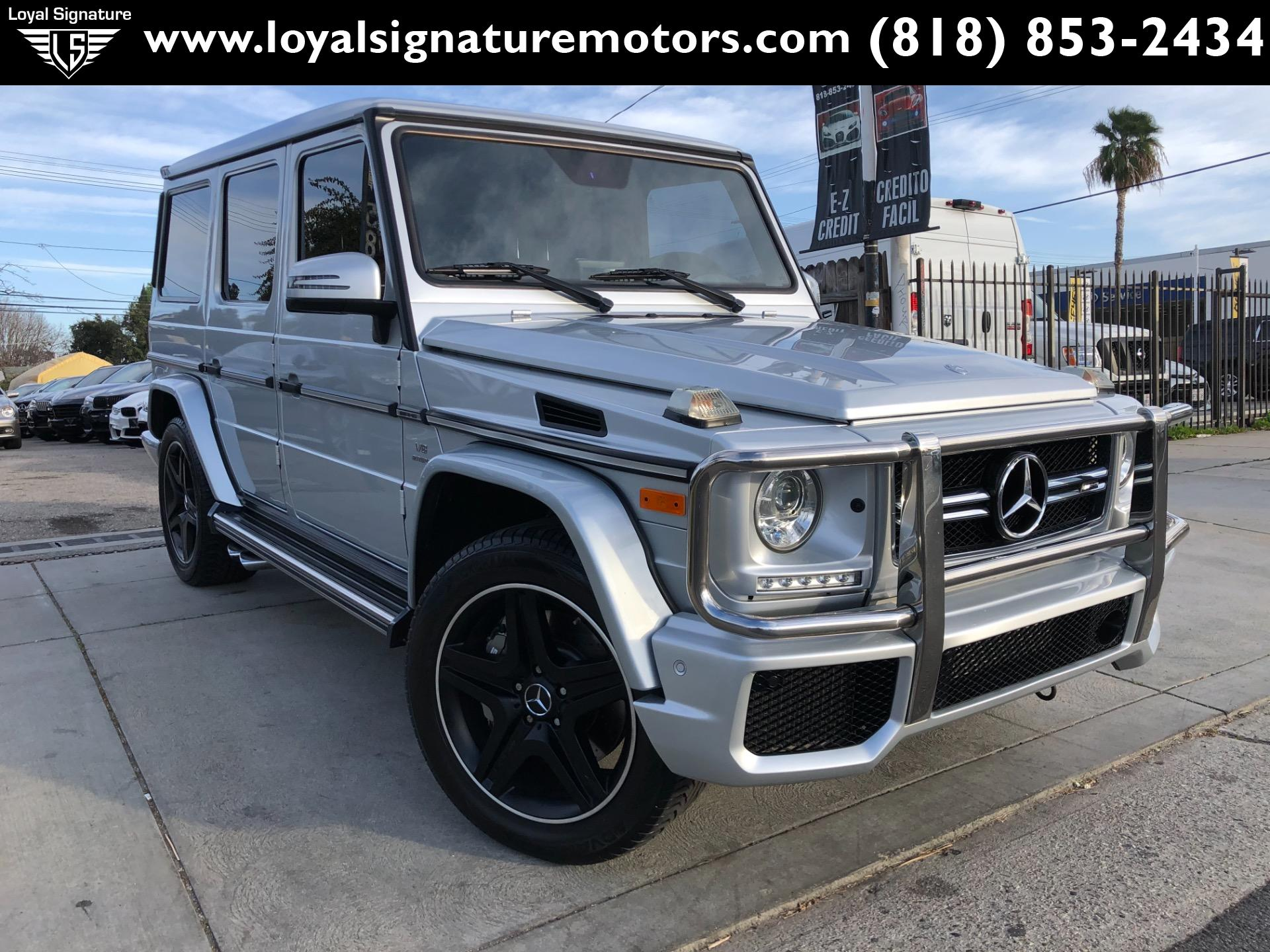 Used 2017 Mercedes-Benz G-Class AMG G 63 | Van Nuys, CA