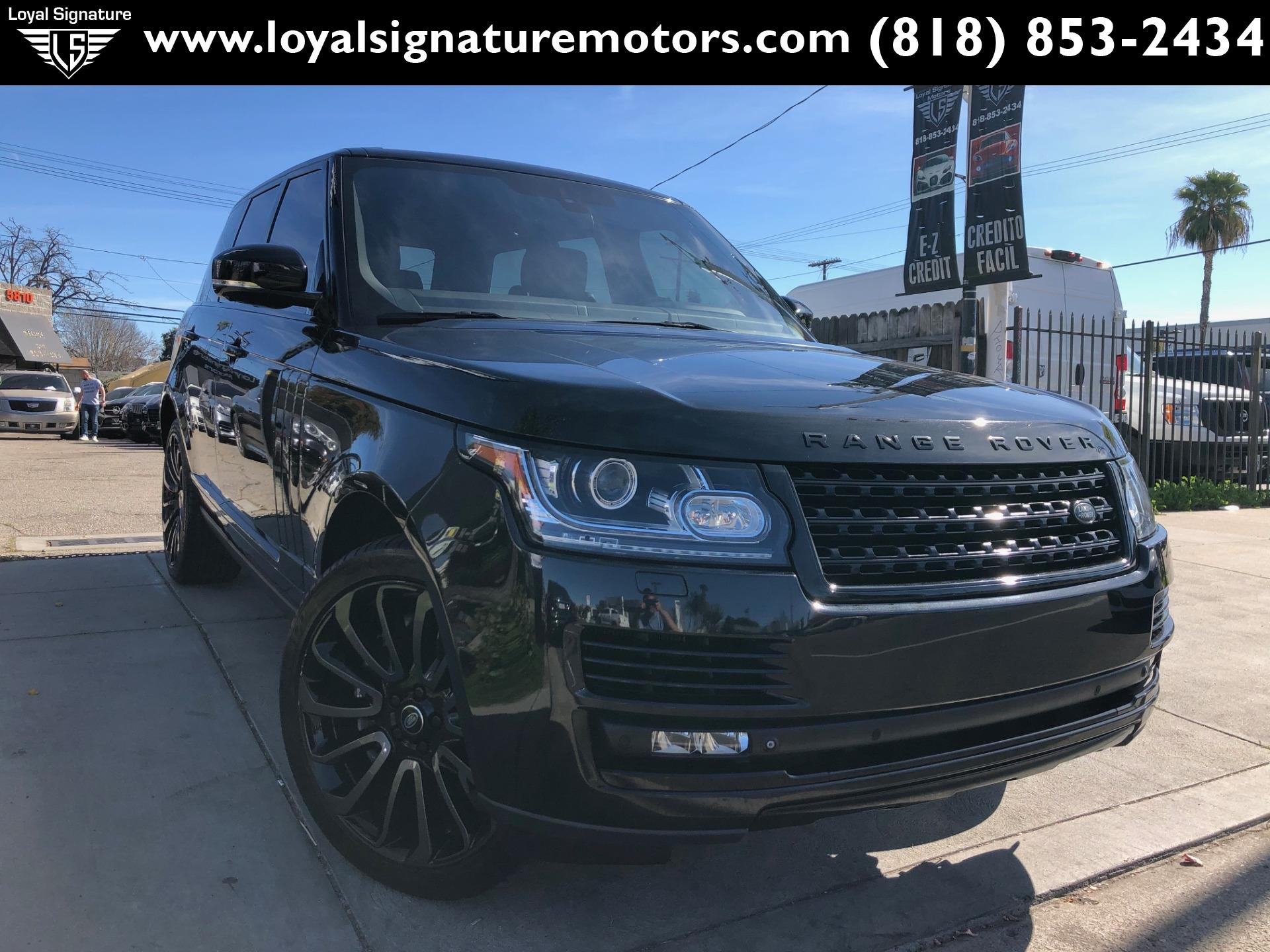 Used 2014 Land Rover Range Rover Supercharged Ebony Edition | Van Nuys, CA