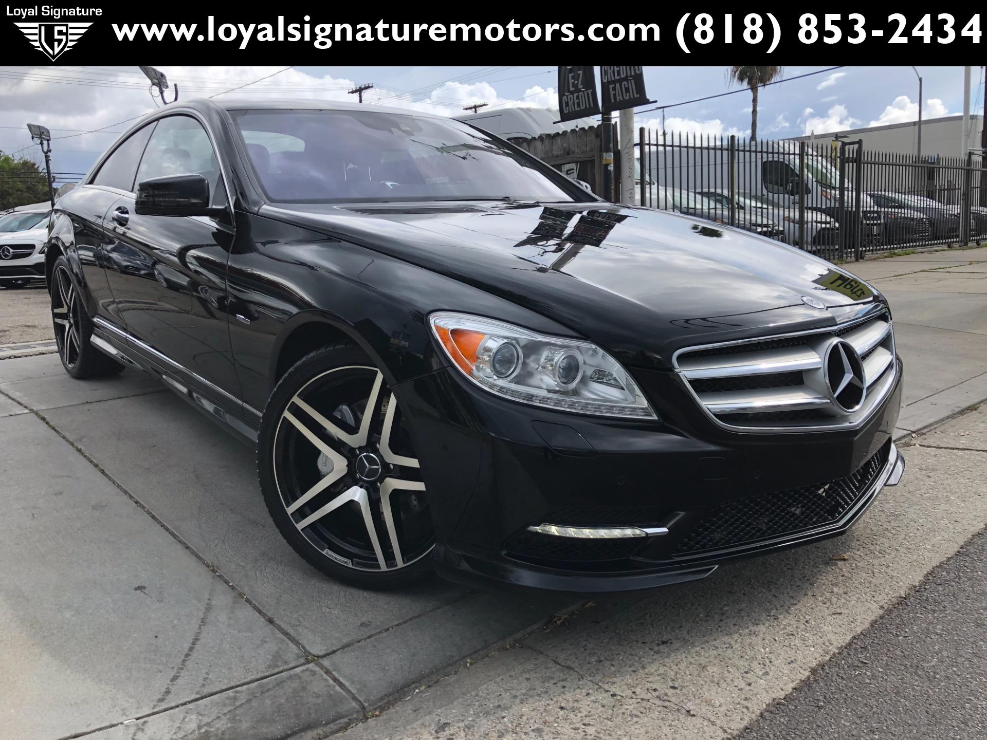 Used 2012 Mercedes-Benz CL-Class CL 550 4MATIC | Van Nuys, CA