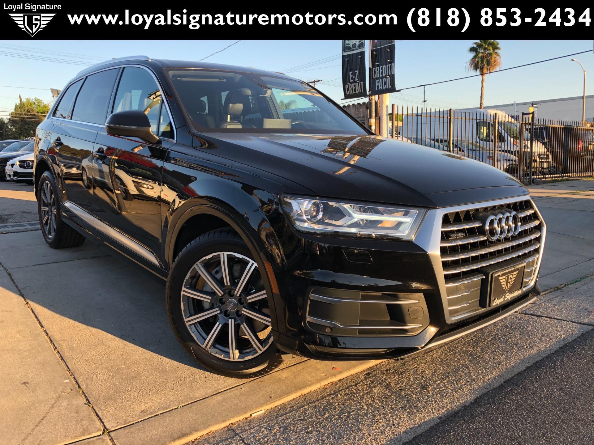 Used 2017 Audi Q7 2.0T quattro Premium | Van Nuys, CA