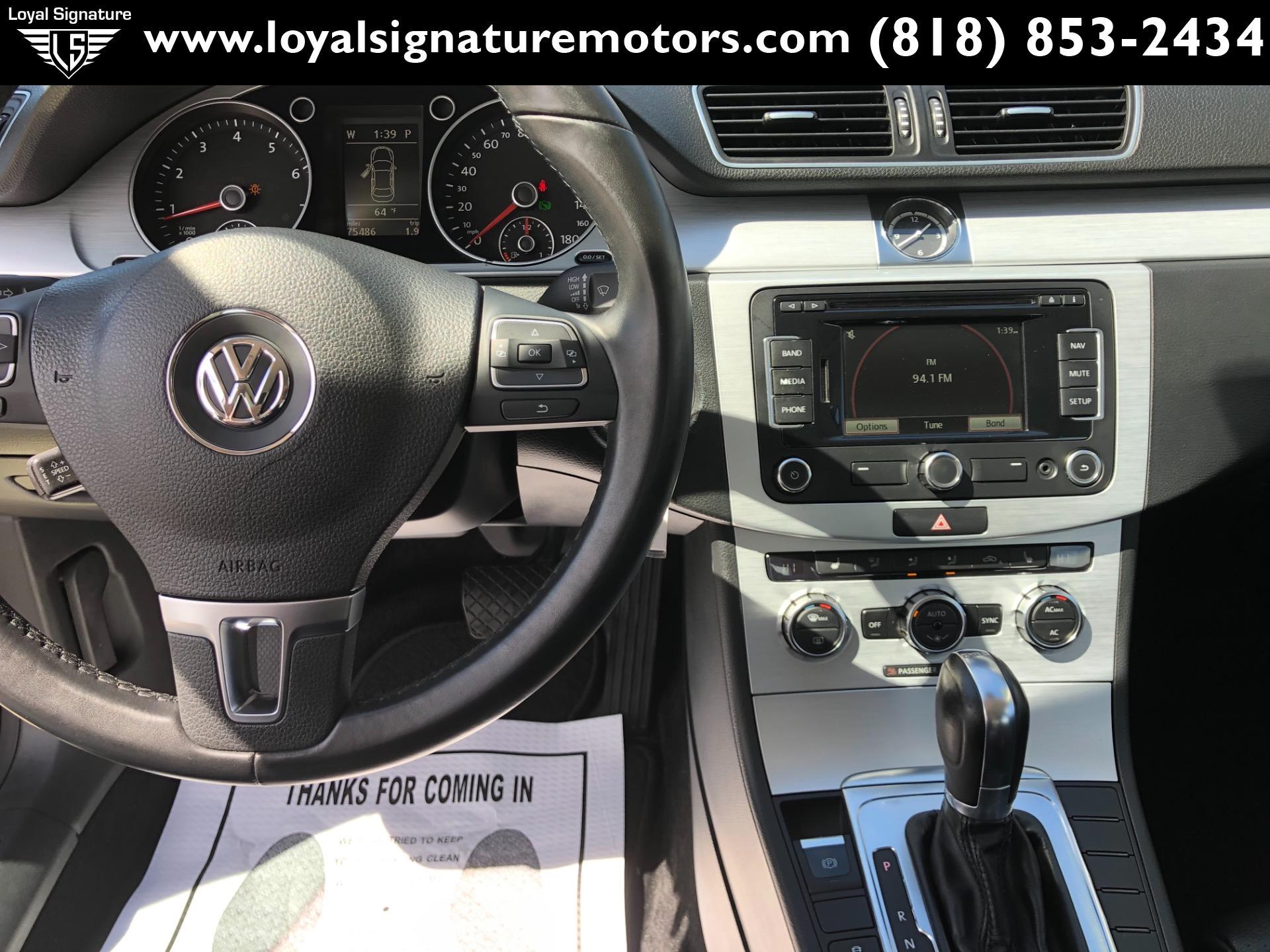 Used-2013-Volkswagen-CC-Sport-PZEV