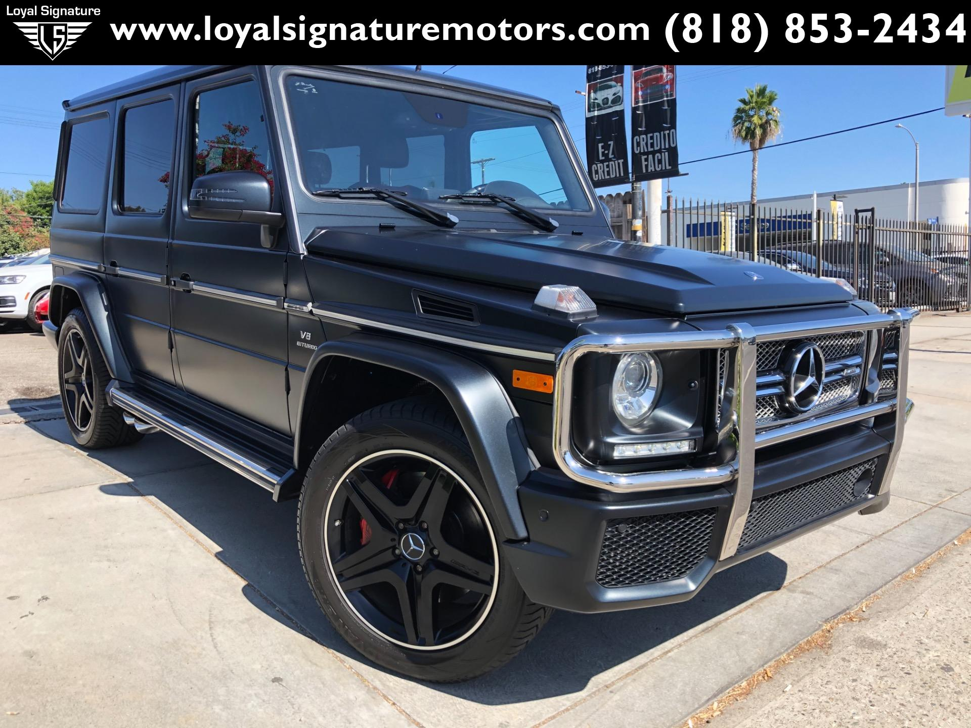 Used 2016 Mercedes-Benz G-Class AMG G 63 | Van Nuys, CA