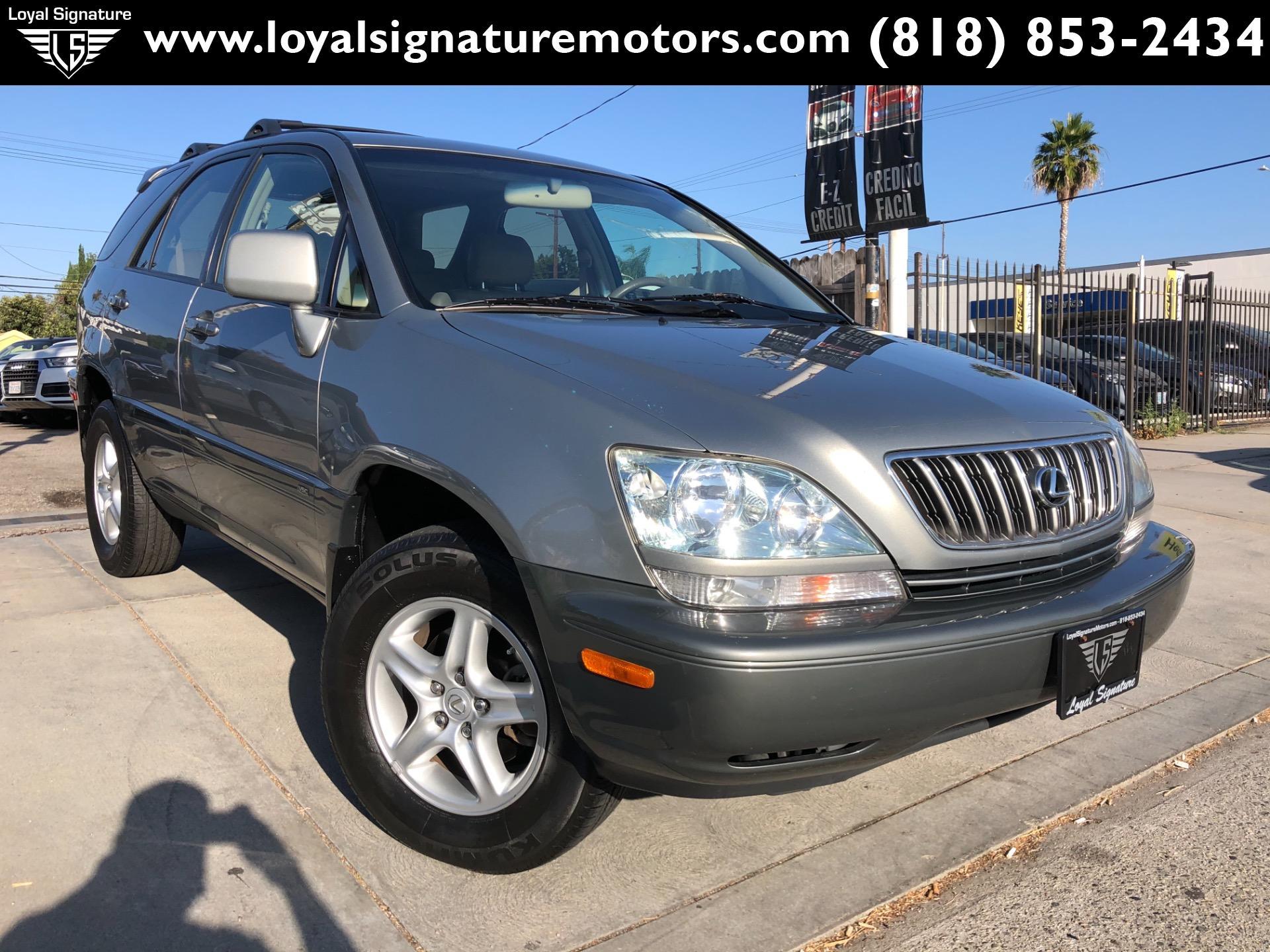 Used 2002 Lexus RX 300 Base | Van Nuys, CA