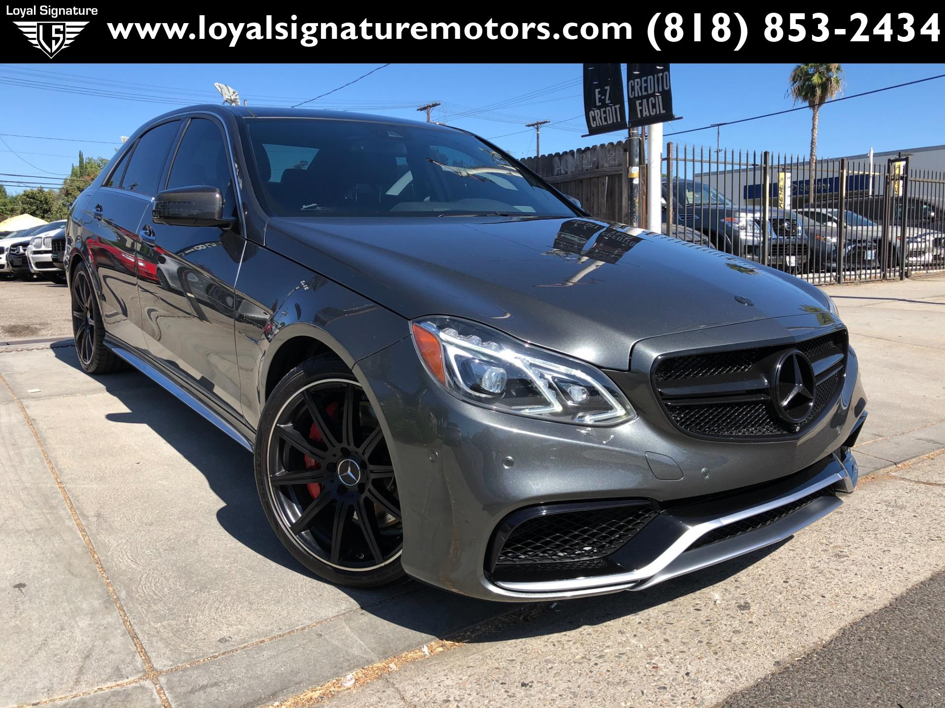 Used 2014 Mercedes-Benz E-Class E 63 AMG S-Model | Van Nuys, CA