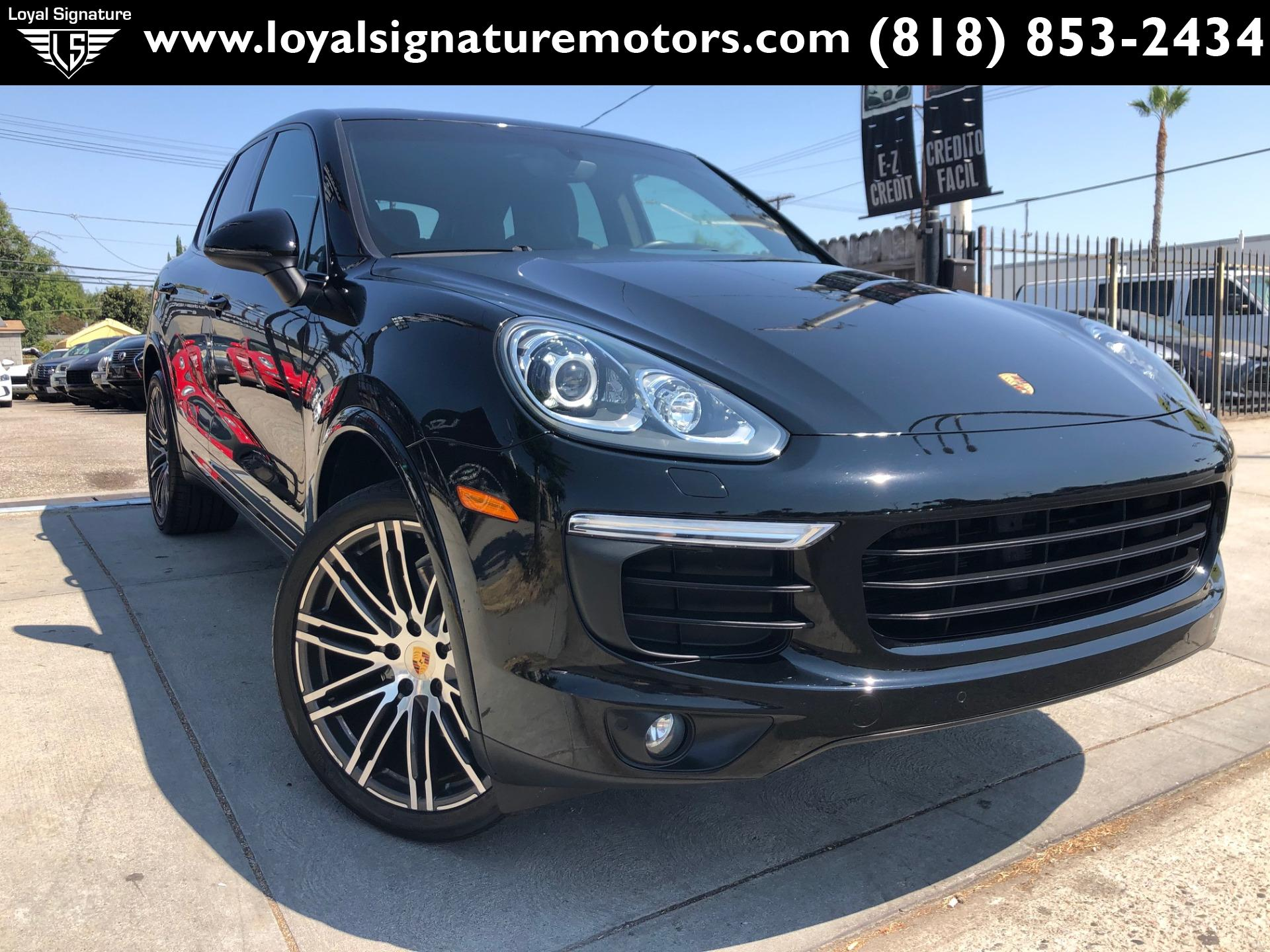 Used 2017 Porsche Cayenne PLATINUM | Van Nuys, CA