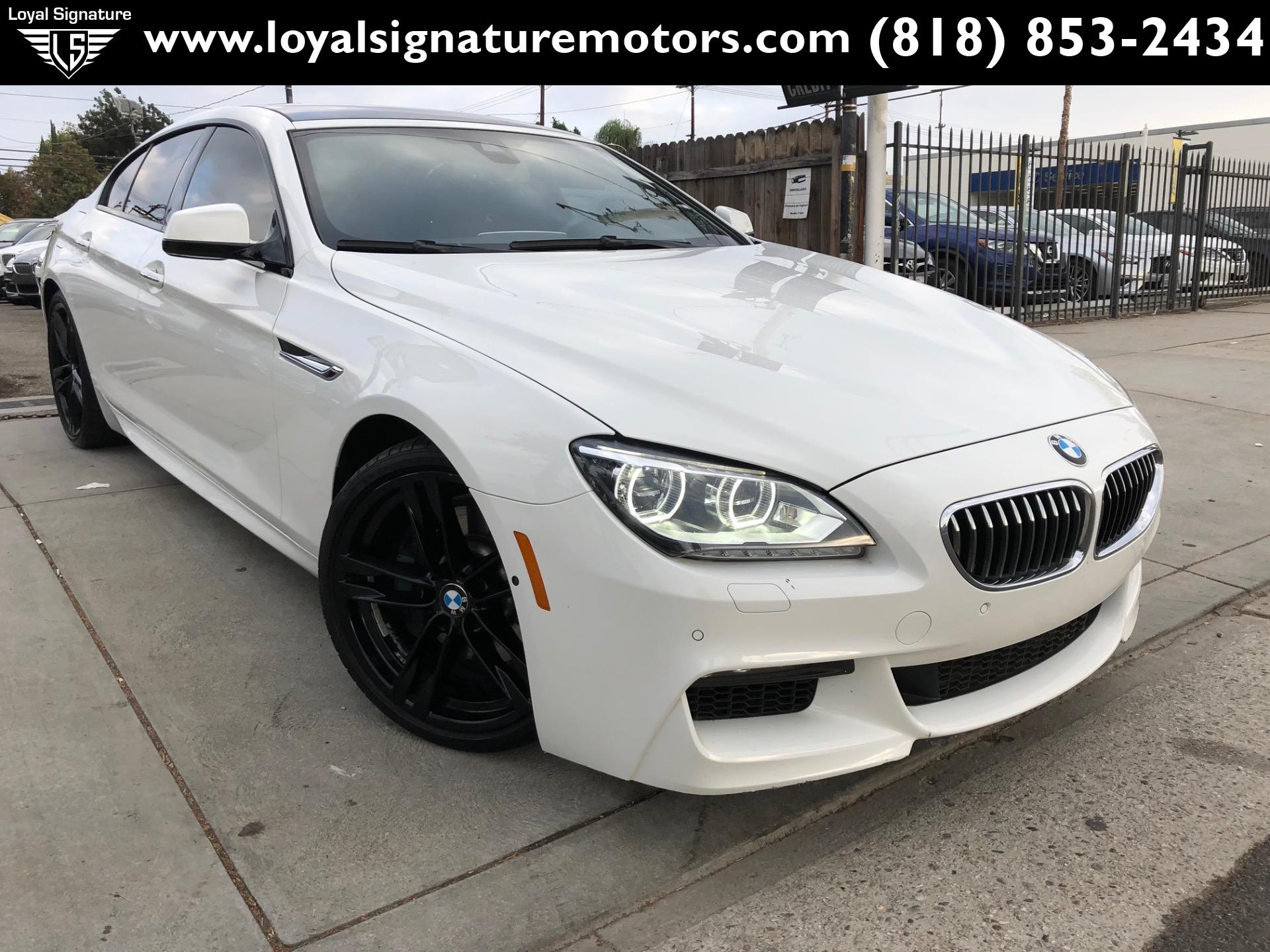 Used 2015 Bmw 6 Series 640i Gran Coupe M Sport Package For Sale 31 995 Loyal Signature Motors Inc Stock 2018158
