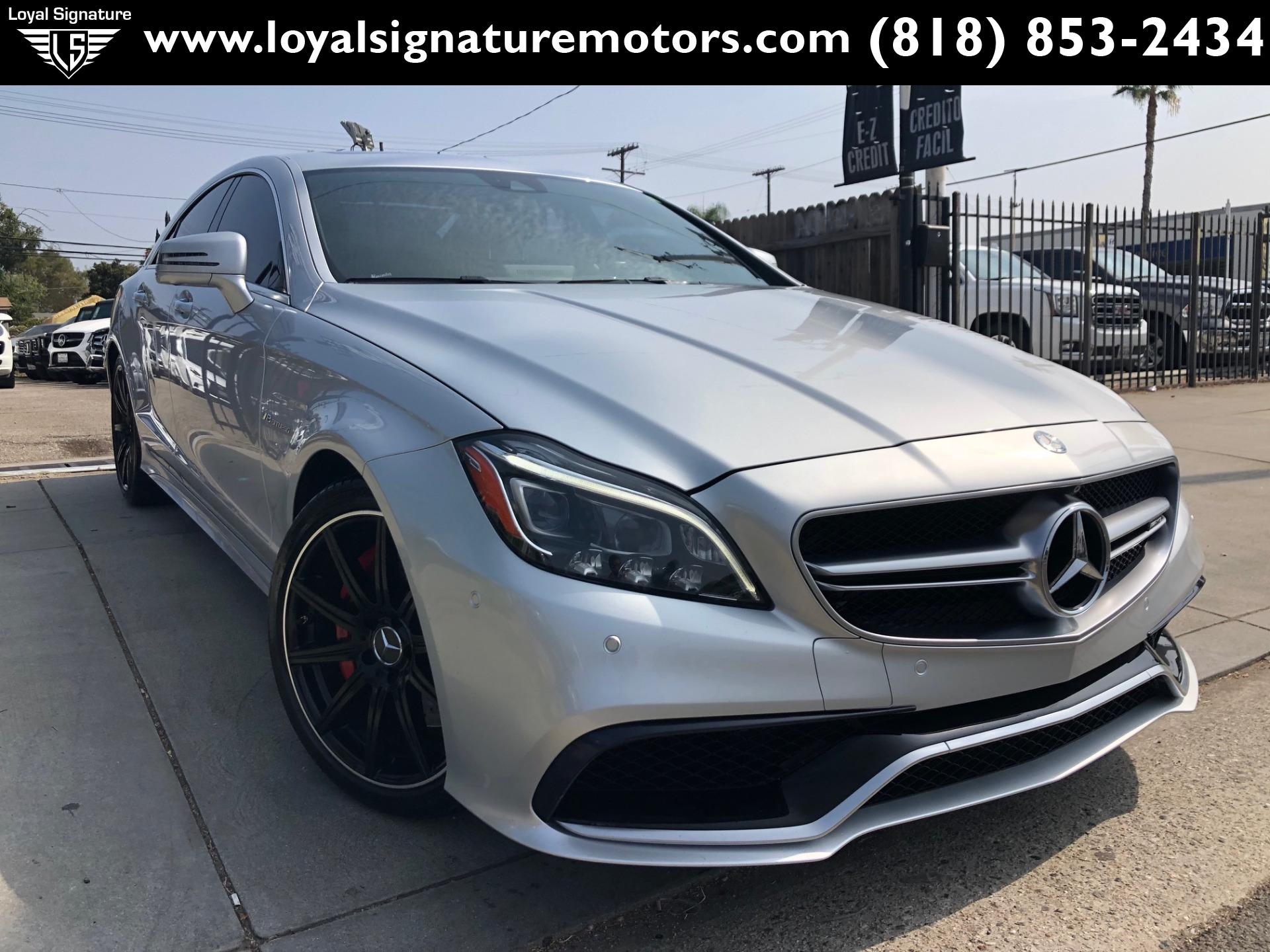 Used 2015 Mercedes-Benz CLS CLS 63 AMG S-Model | Van Nuys, CA