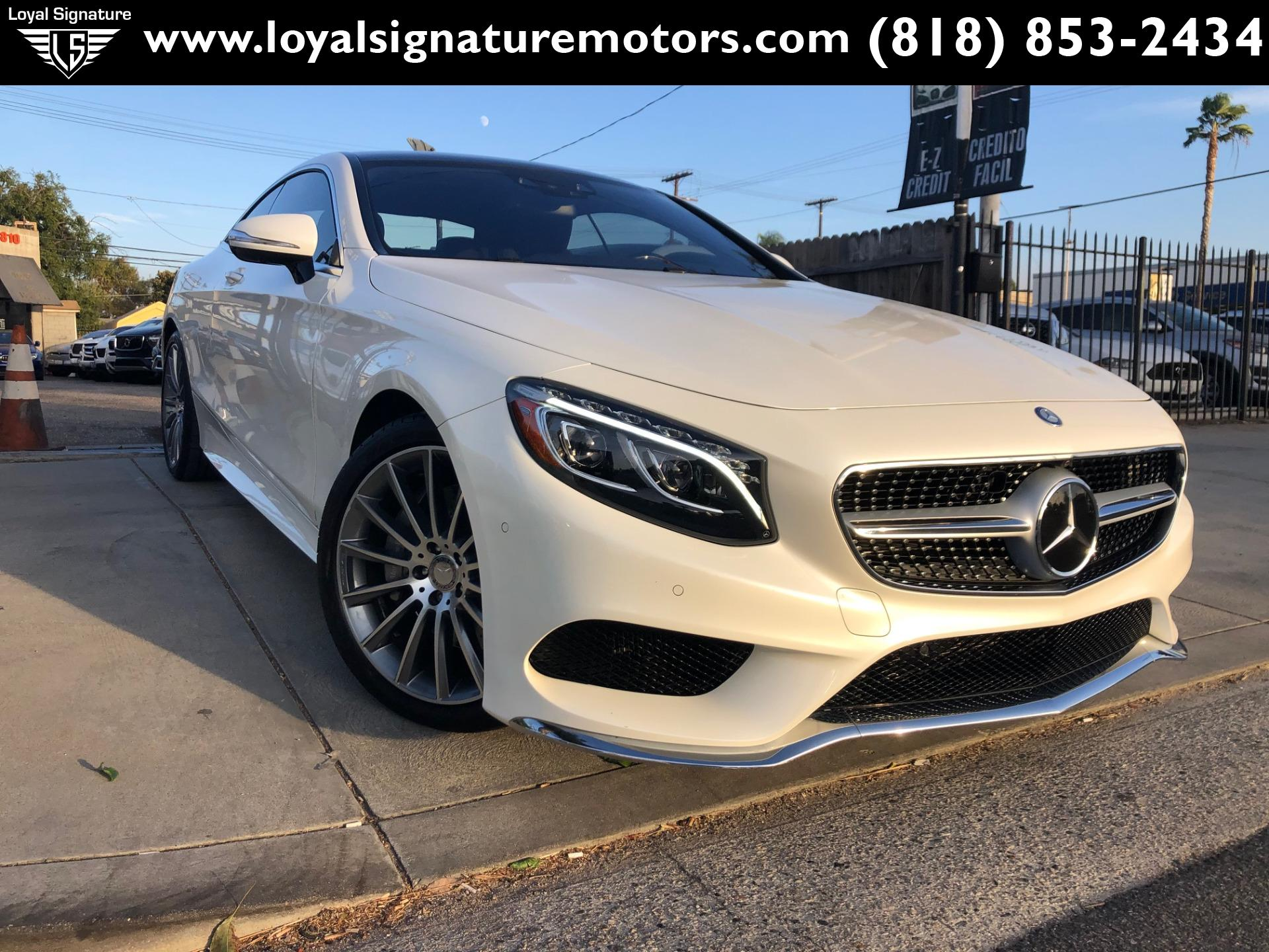 Used 2016 Mercedes-Benz S-Class S 550 4MATIC | Van Nuys, CA