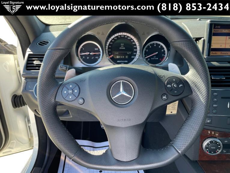 Used-2009-Mercedes-Benz-C-Class-C-63-AMG