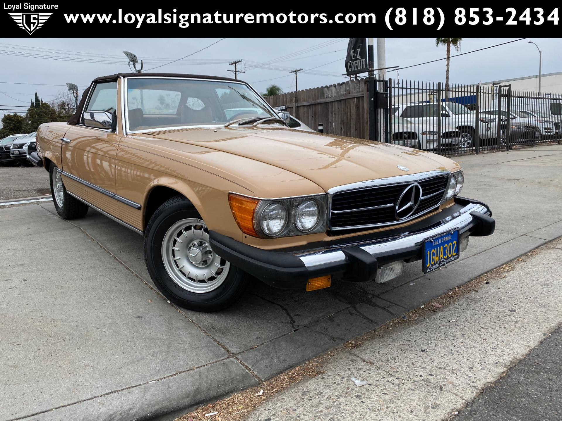 Used 1979 Mercedes-Benz 450SL  | Van Nuys, CA