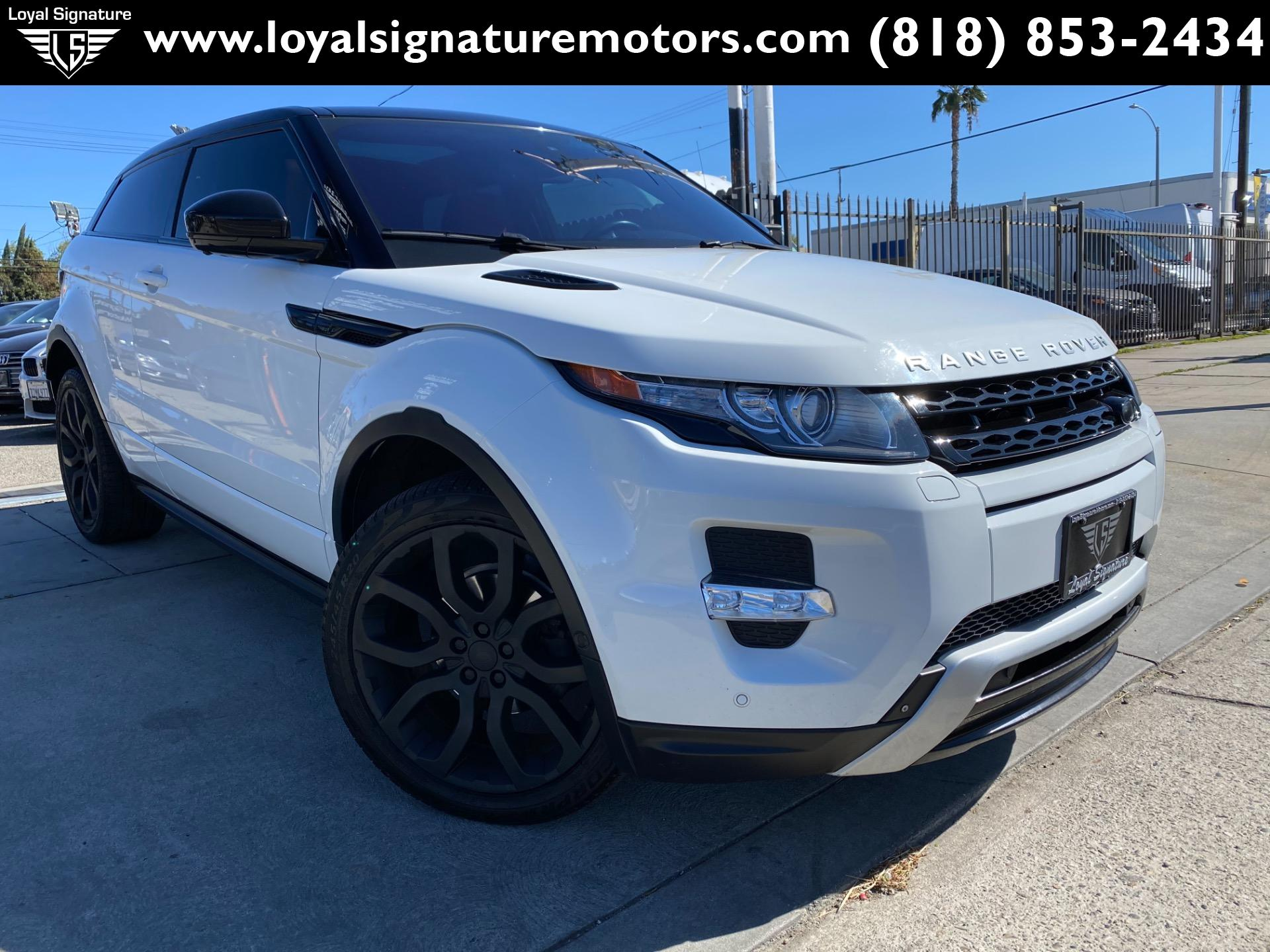Used 2015 Land Rover Range Rover Evoque Coupe Dynamic | Van Nuys, CA