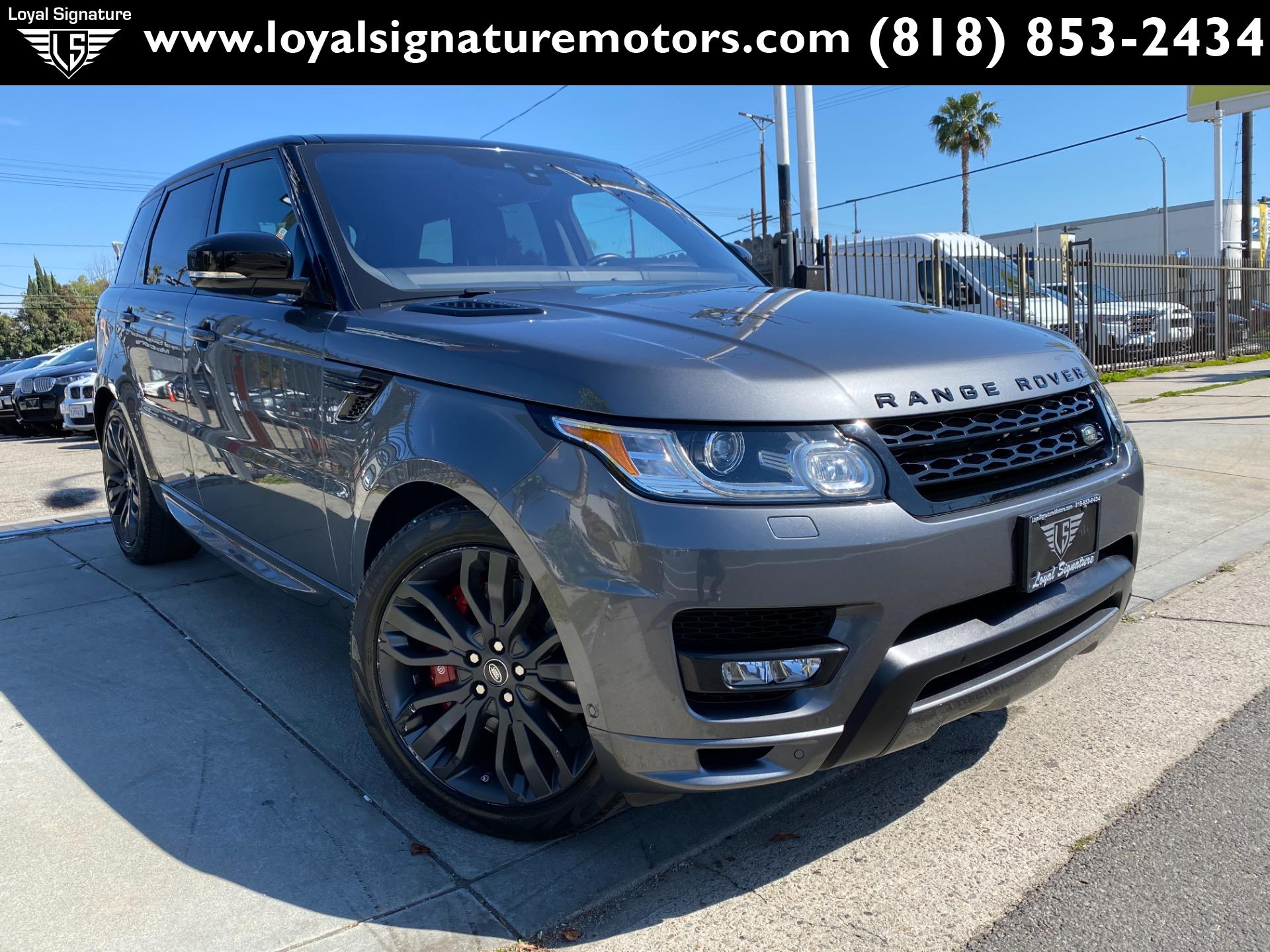 Used 2017 Land Rover Range Rover Sport HSE Dynamic | Van Nuys, CA