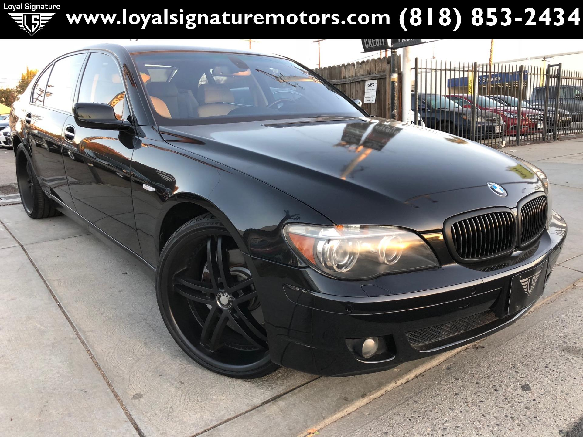 Used 2007 Bmw 7 Series 750li For Sale 5 995 Loyal Signature Motors Inc Stock 2018144