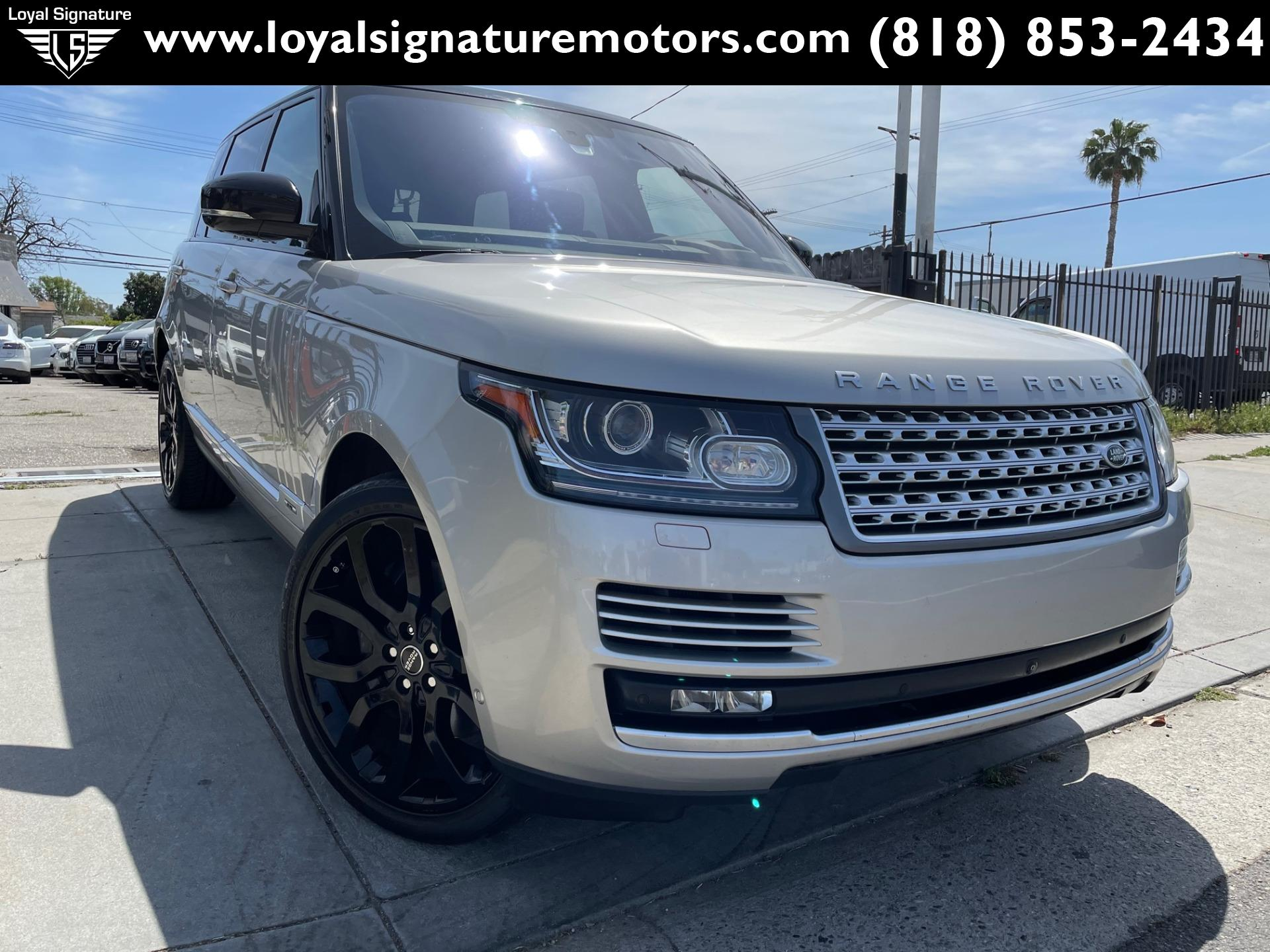 Used 2016 Land Rover Range Rover Supercharged LWB   Van Nuys, CA