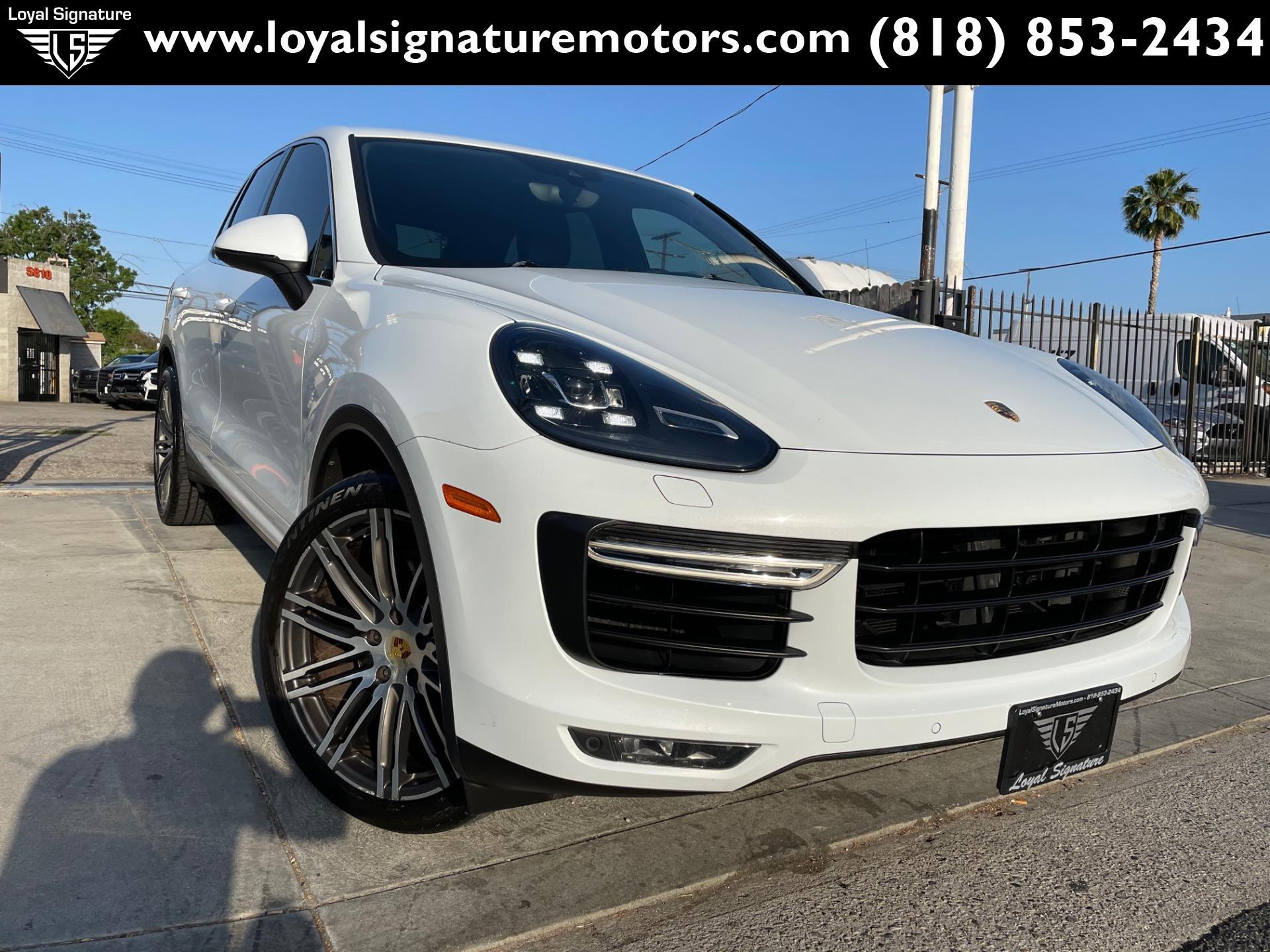 Used 2015 Porsche Cayenne Turbo   Van Nuys, CA