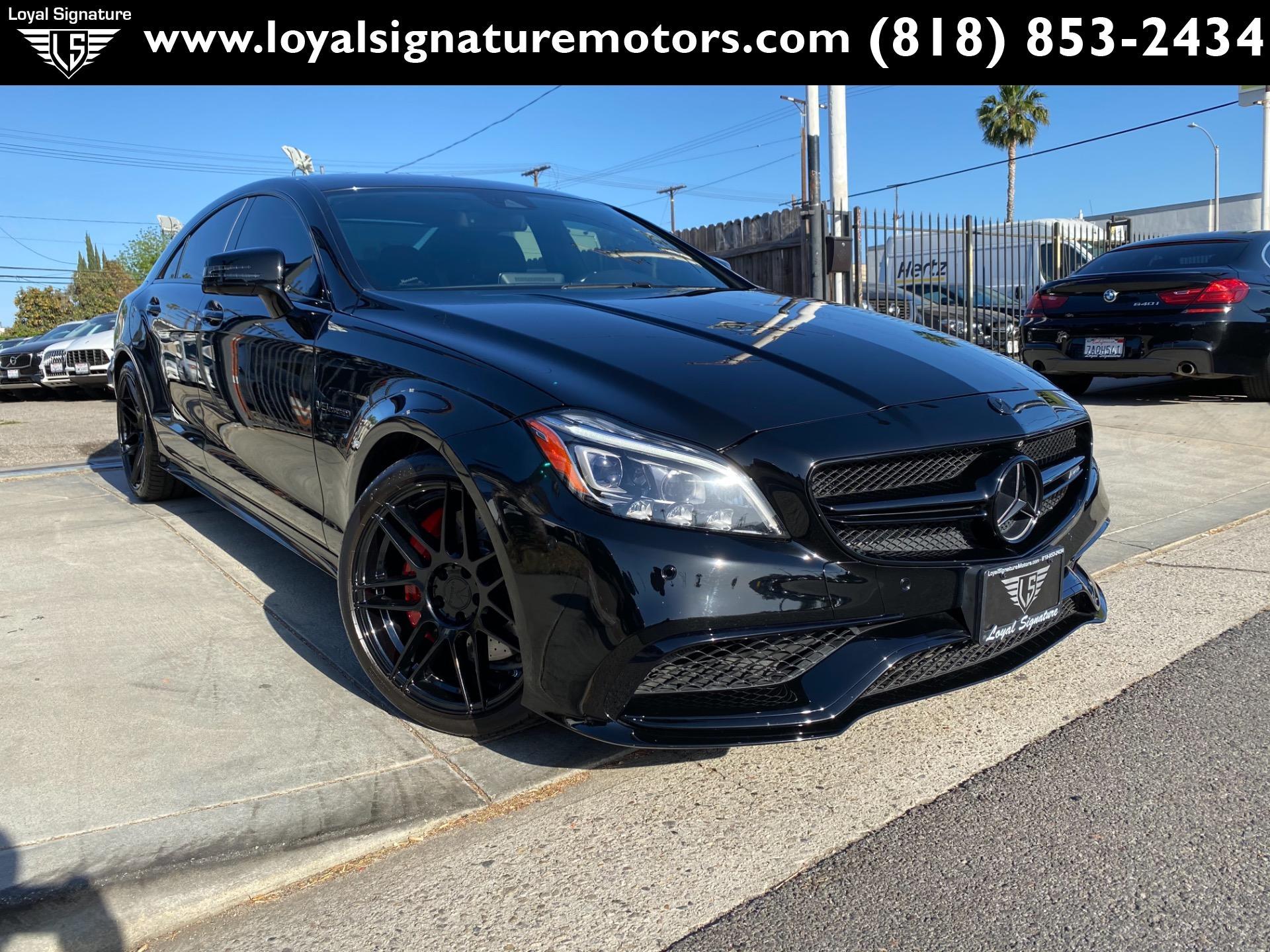 Used 2015 Mercedes-Benz CLS CLS 63 AMG S-Model | Van Nuys, CA