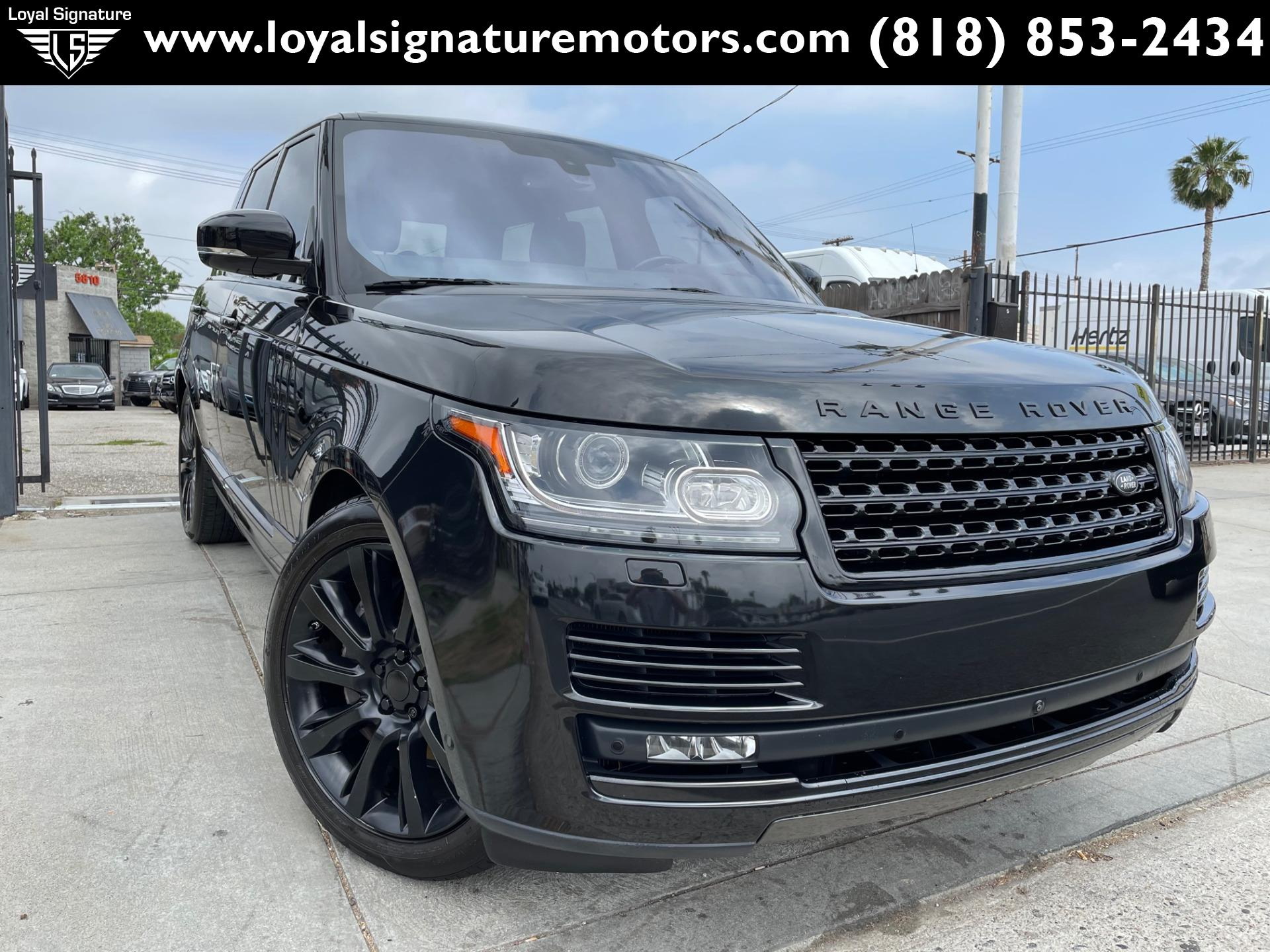 Used 2016 Land Rover Range Rover Supercharged   Van Nuys, CA