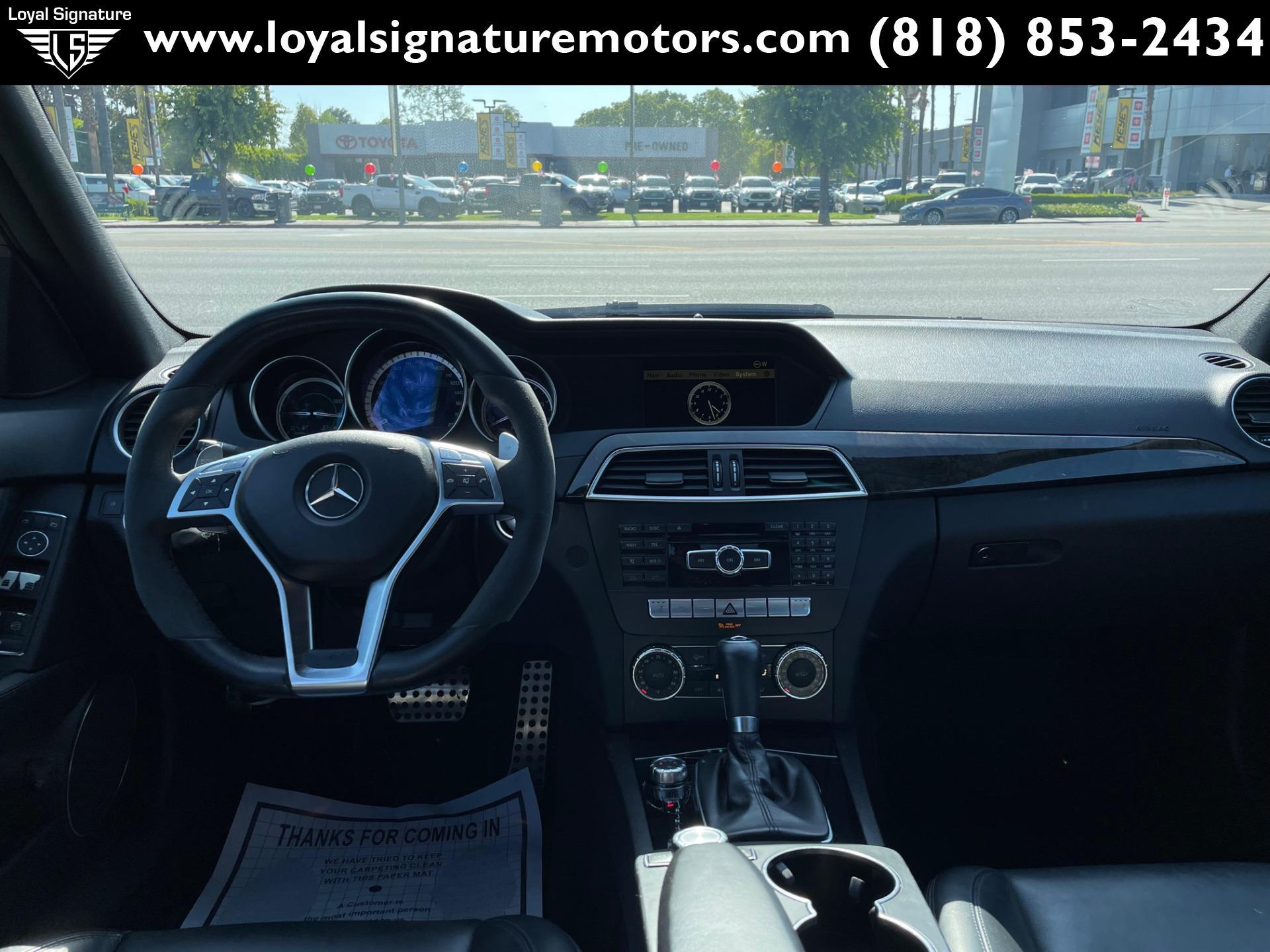 Used-2012-Mercedes-Benz-C-Class-C-63-AMG