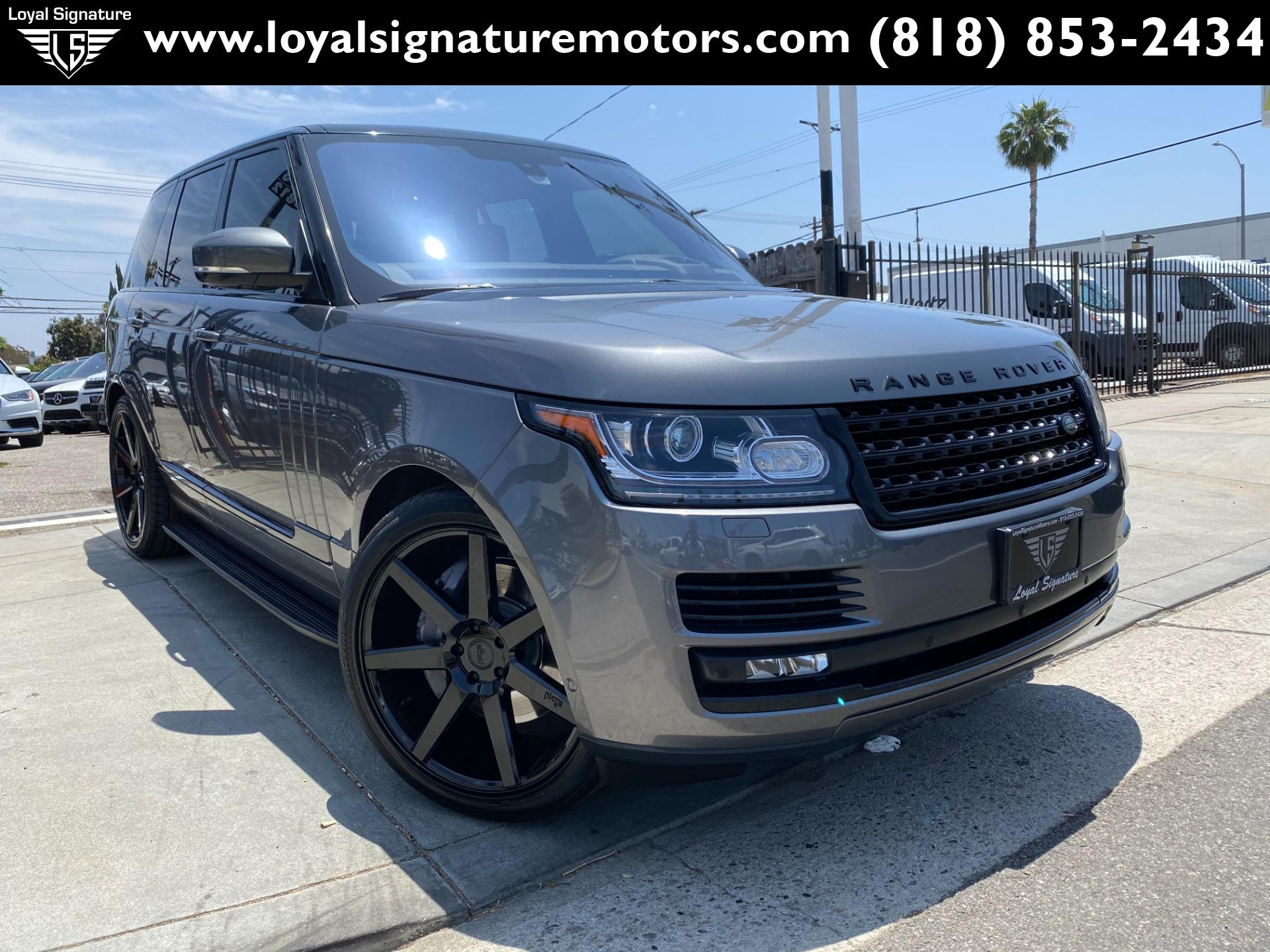 Used 2016 Land Rover Range Rover Supercharged | Van Nuys, CA