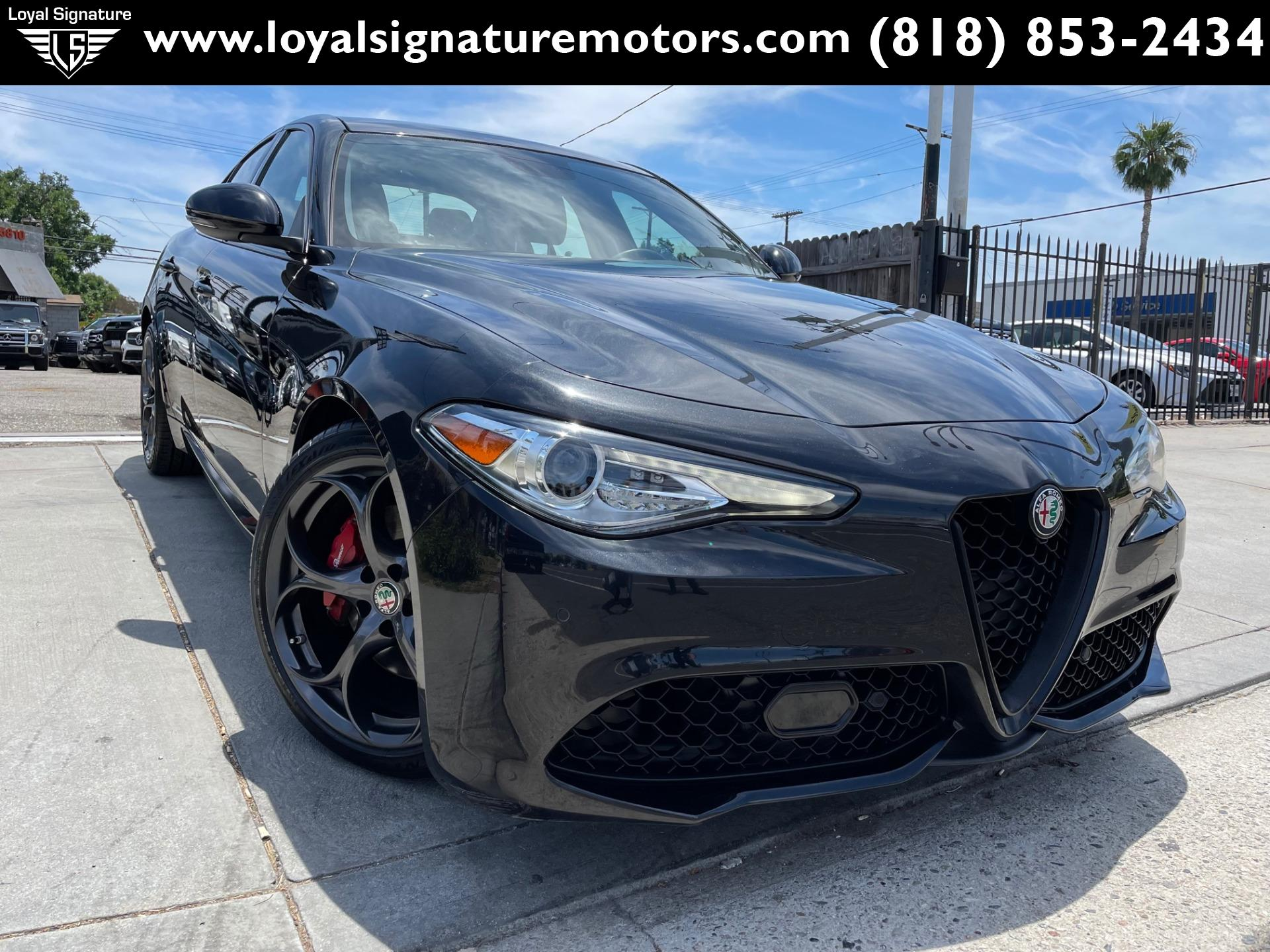 Used 2017 Alfa Romeo Giulia Ti | Van Nuys, CA