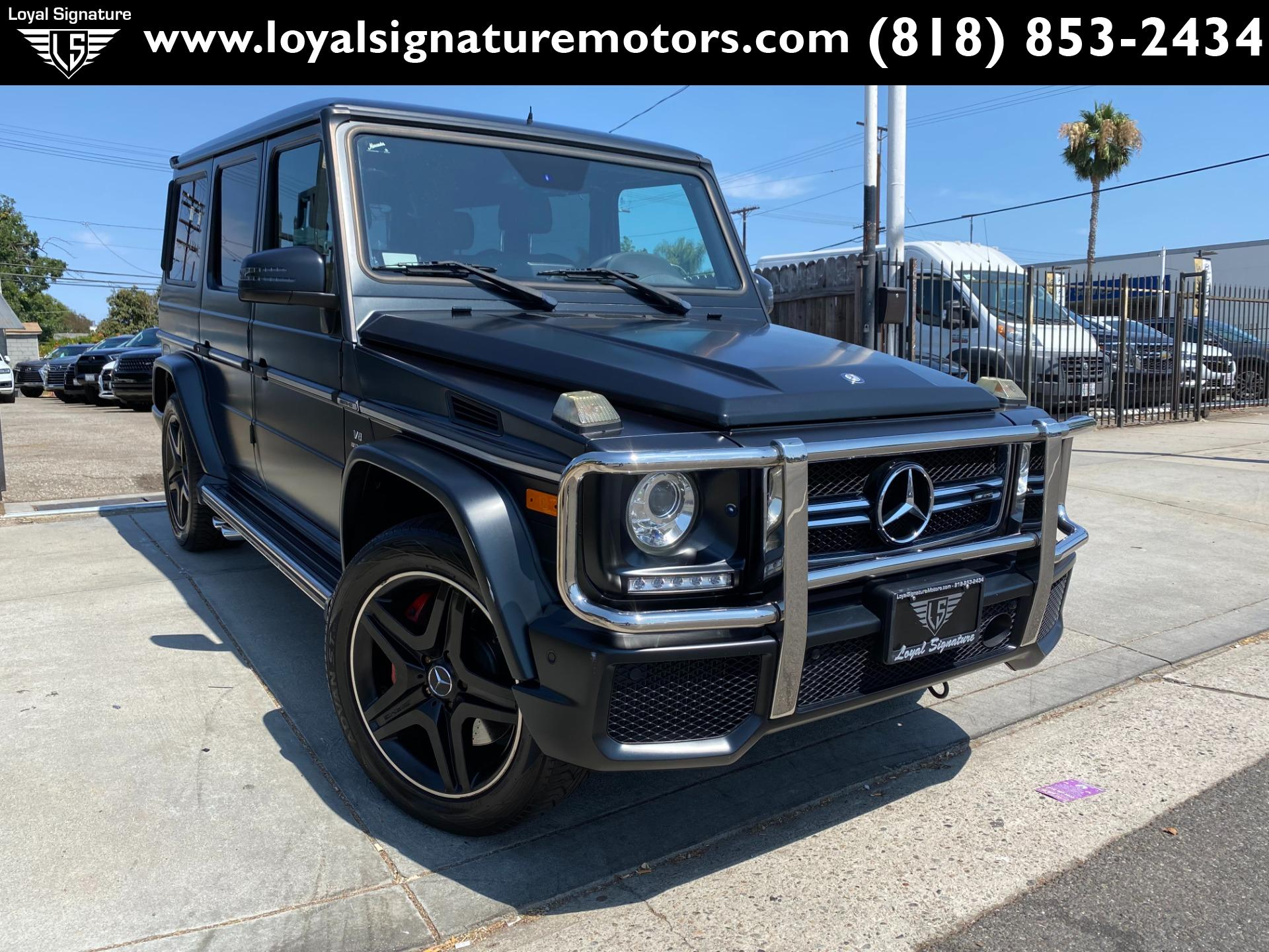 Used 2015 Mercedes-Benz G-Class G 63 AMG | Van Nuys, CA