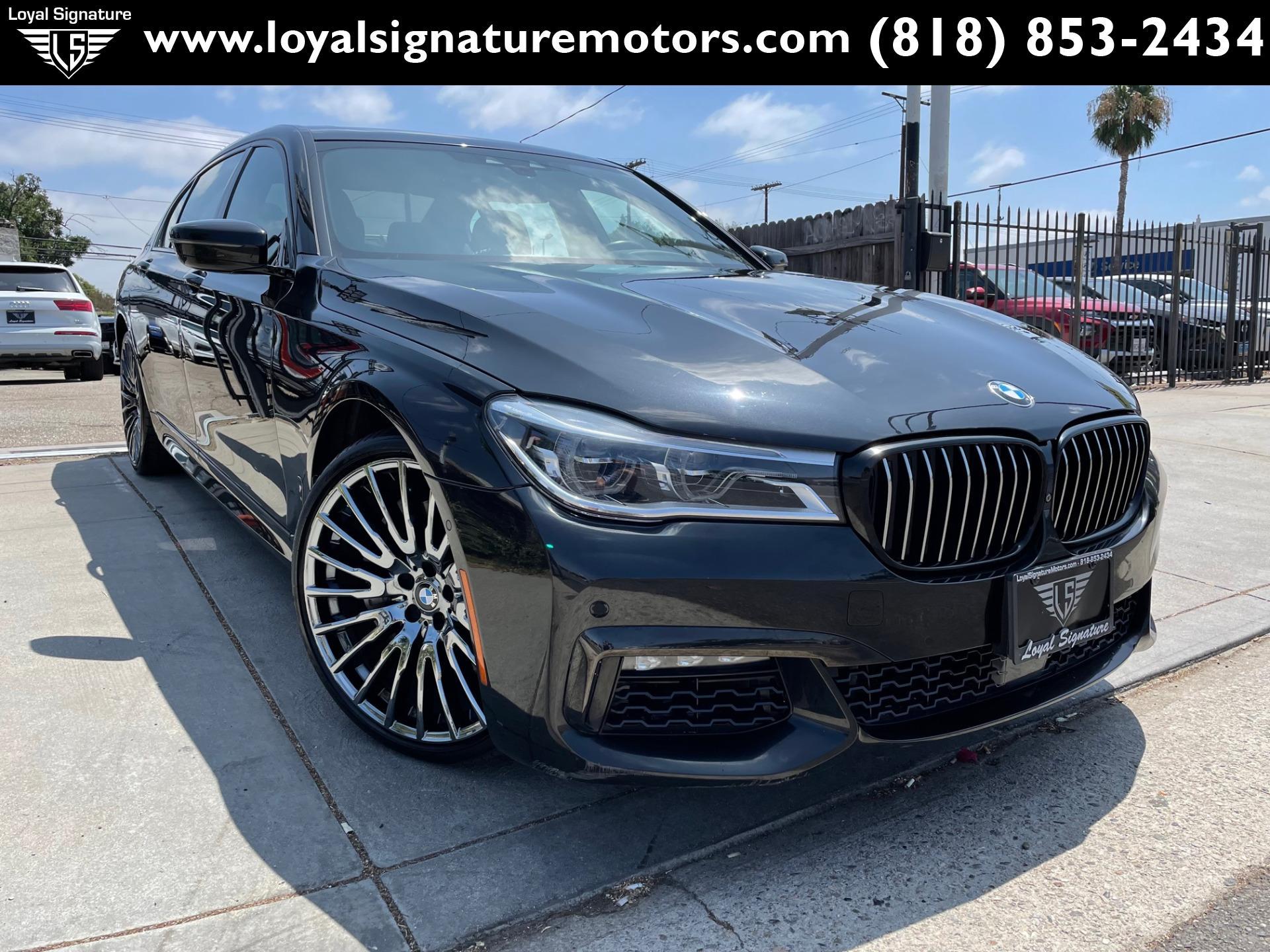 Used 2018 BMW 7 Series 750i | Van Nuys, CA