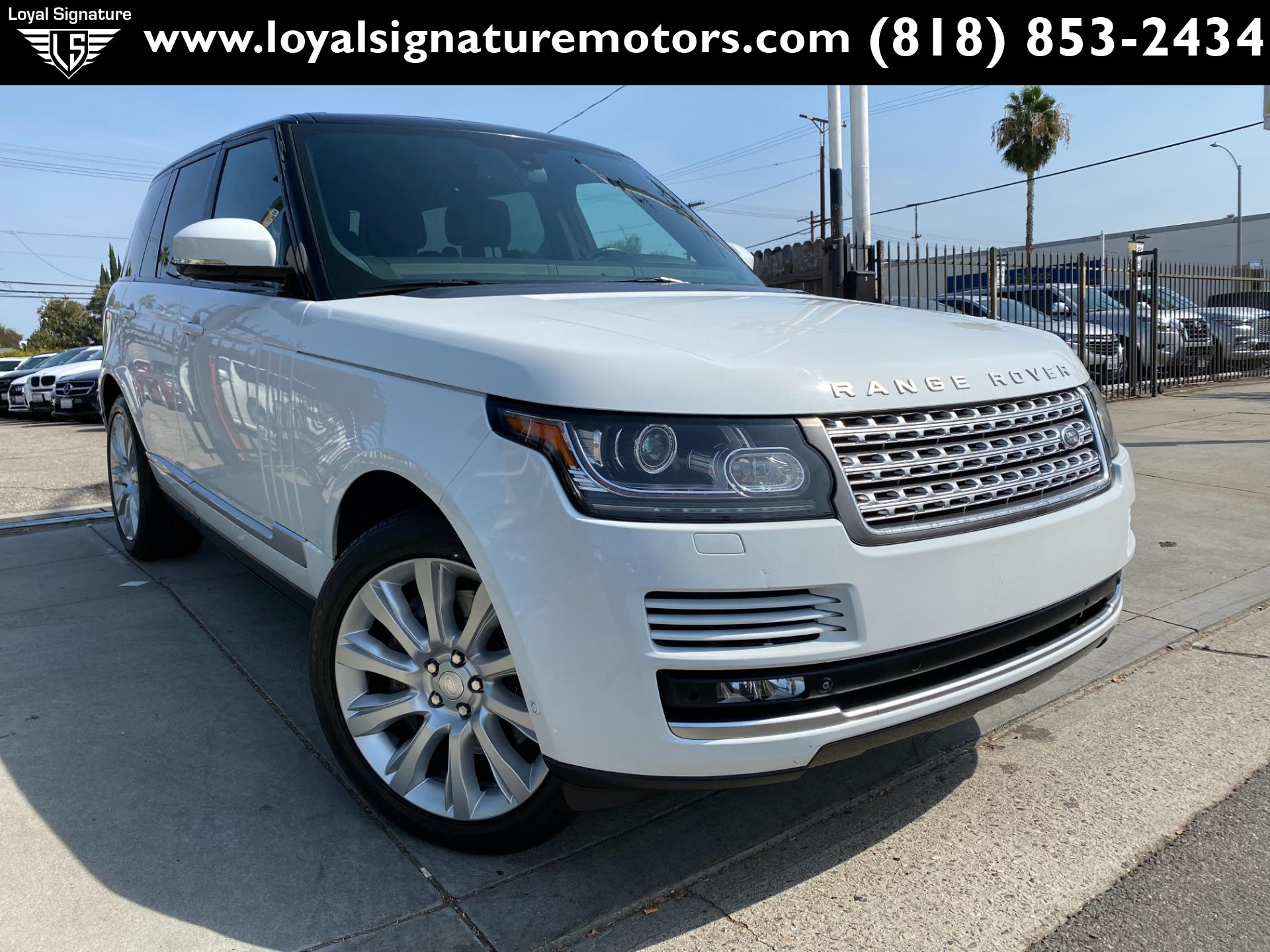 Used 2014 Land Rover Range Rover Supercharged   Van Nuys, CA