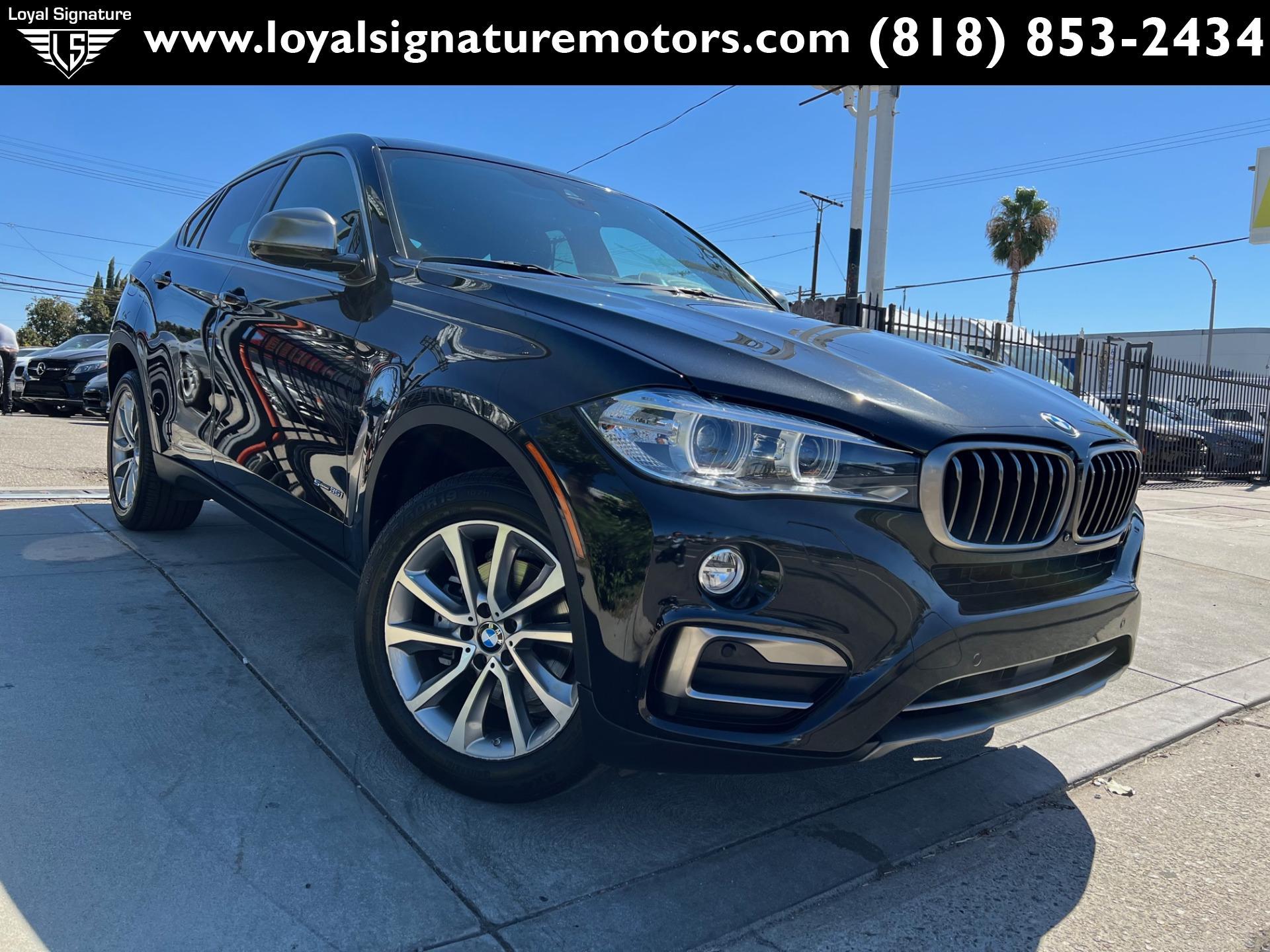 Used 2017 BMW X6 sDrive35i | Van Nuys, CA