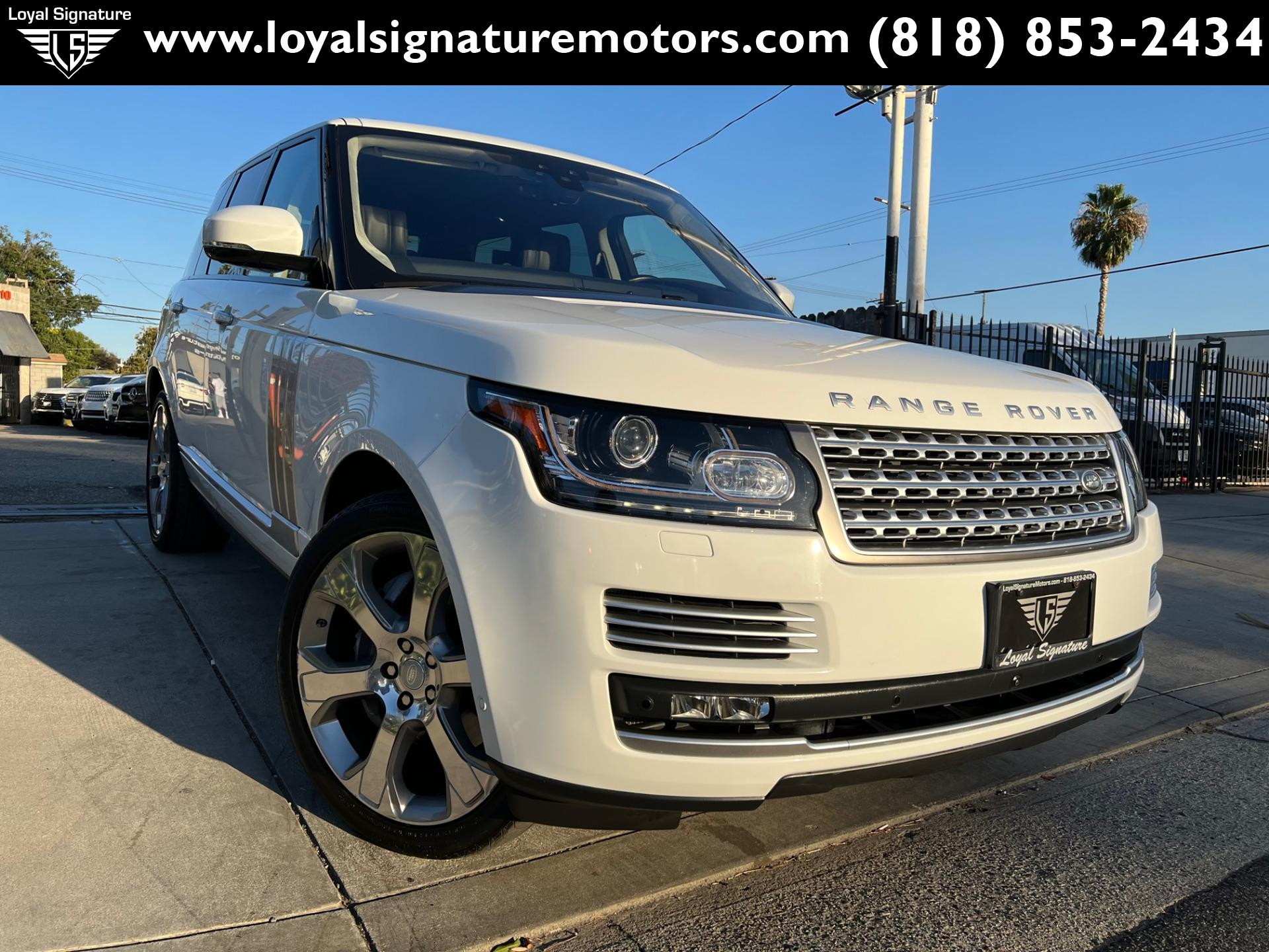 Used 2017 Land Rover Range Rover Autobiography   Van Nuys, CA